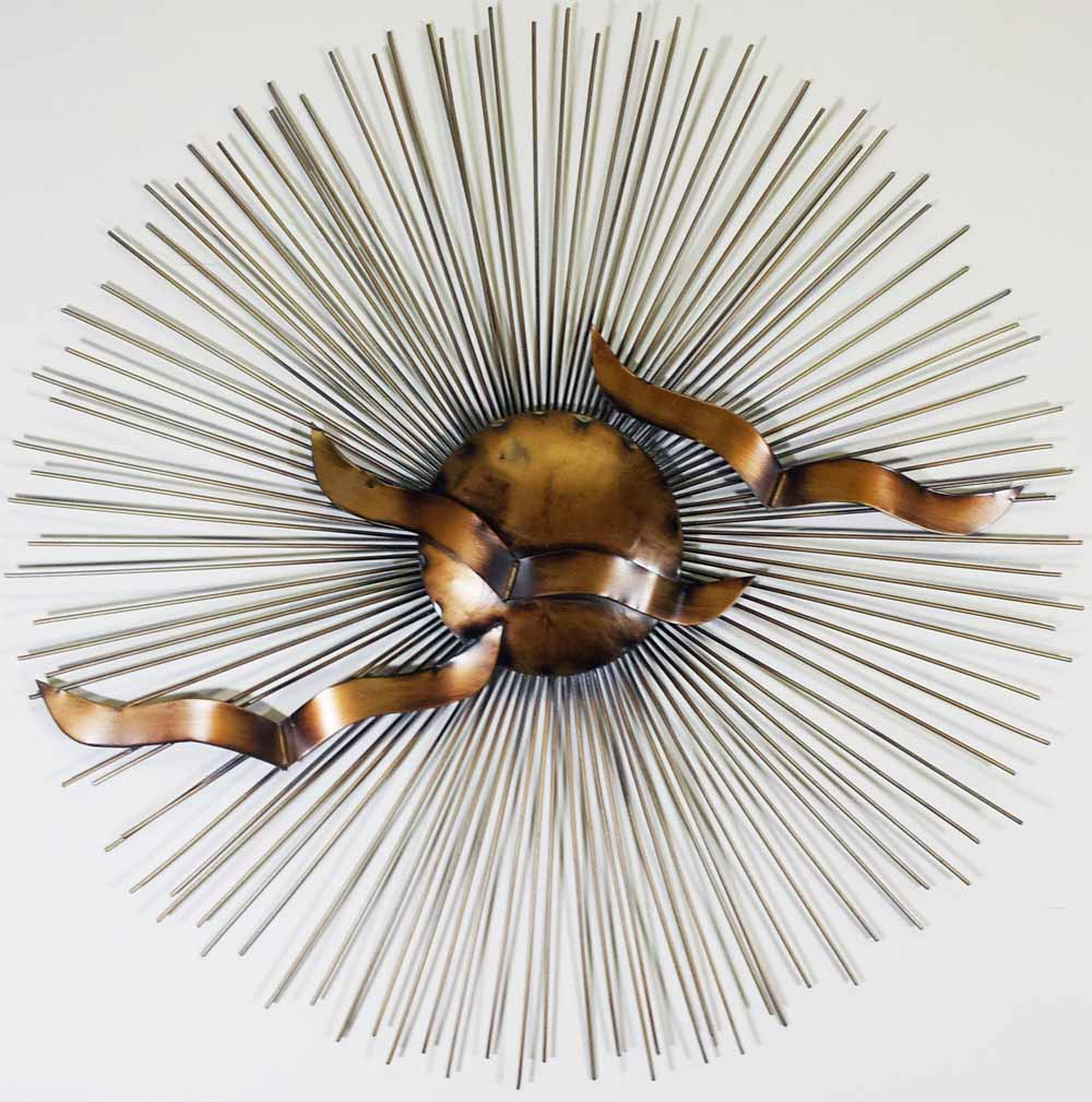 Contemporary Art Regarding Nature Metal Sun Wall Decor (Gallery 8 of 20)