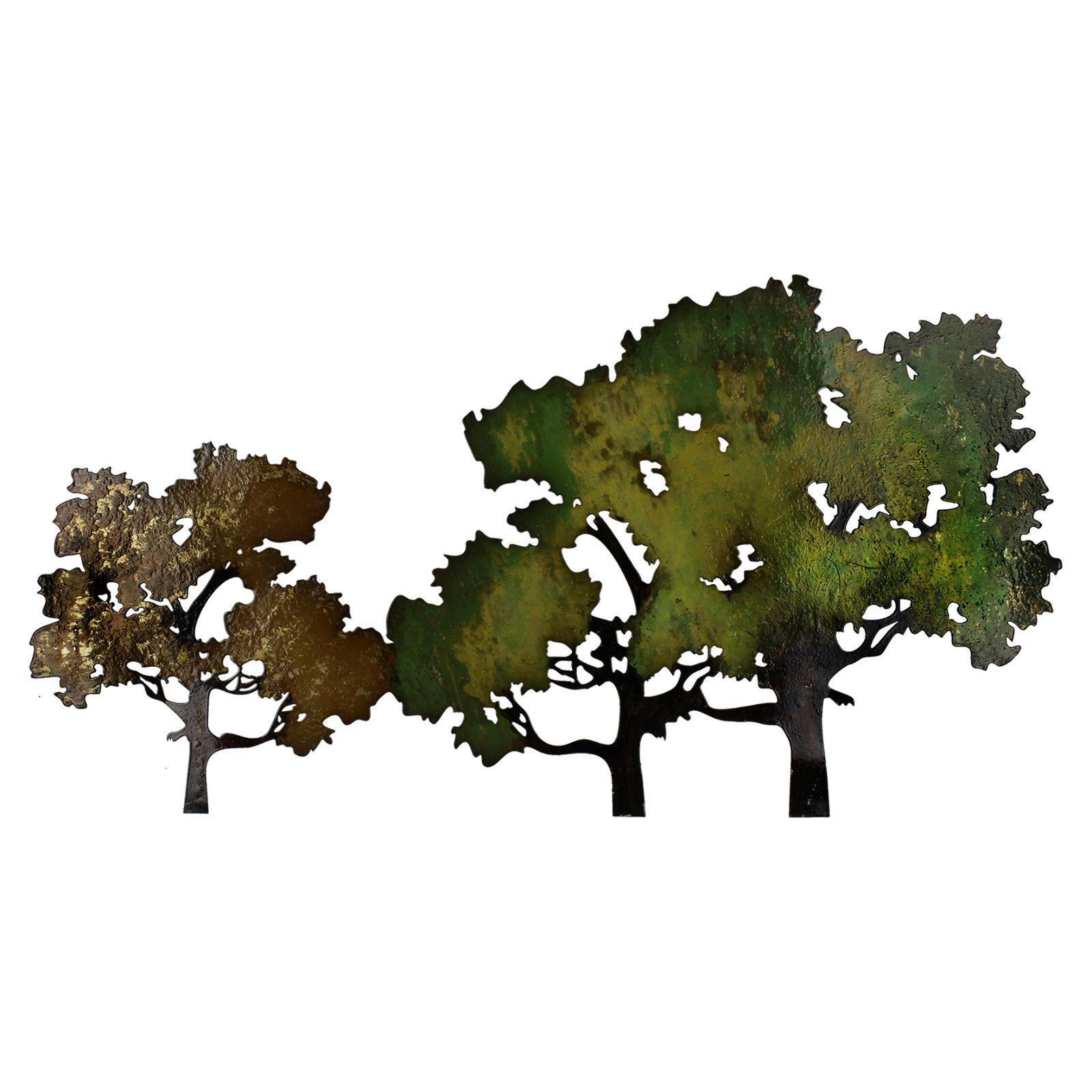 Contemporary Forest Metal Wall Decor Regarding Current Contemporary Forest Metal Wall Art Decoration 41 X 77Cm (Gallery 5 of 20)