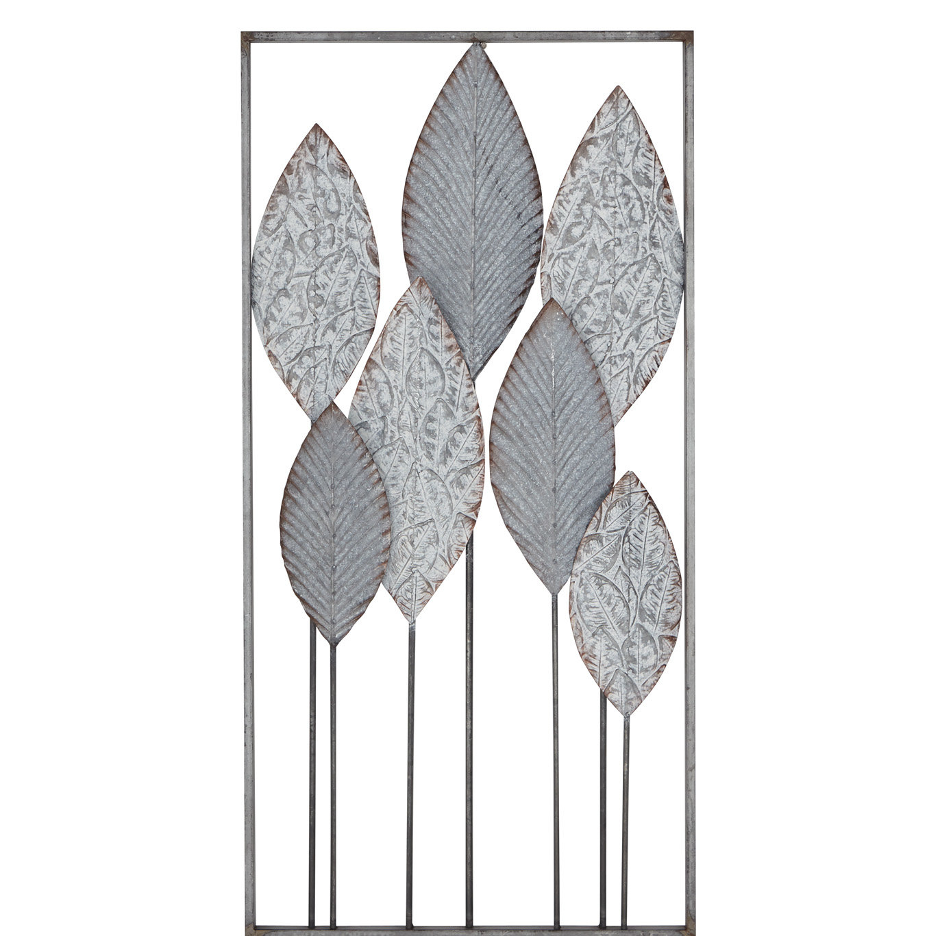 Contemporary Iron Leaves Wall Decor By Winston Porter Throughout Favorite Ebern Designs Modern Leaf Wall Decor (Gallery 19 of 20)