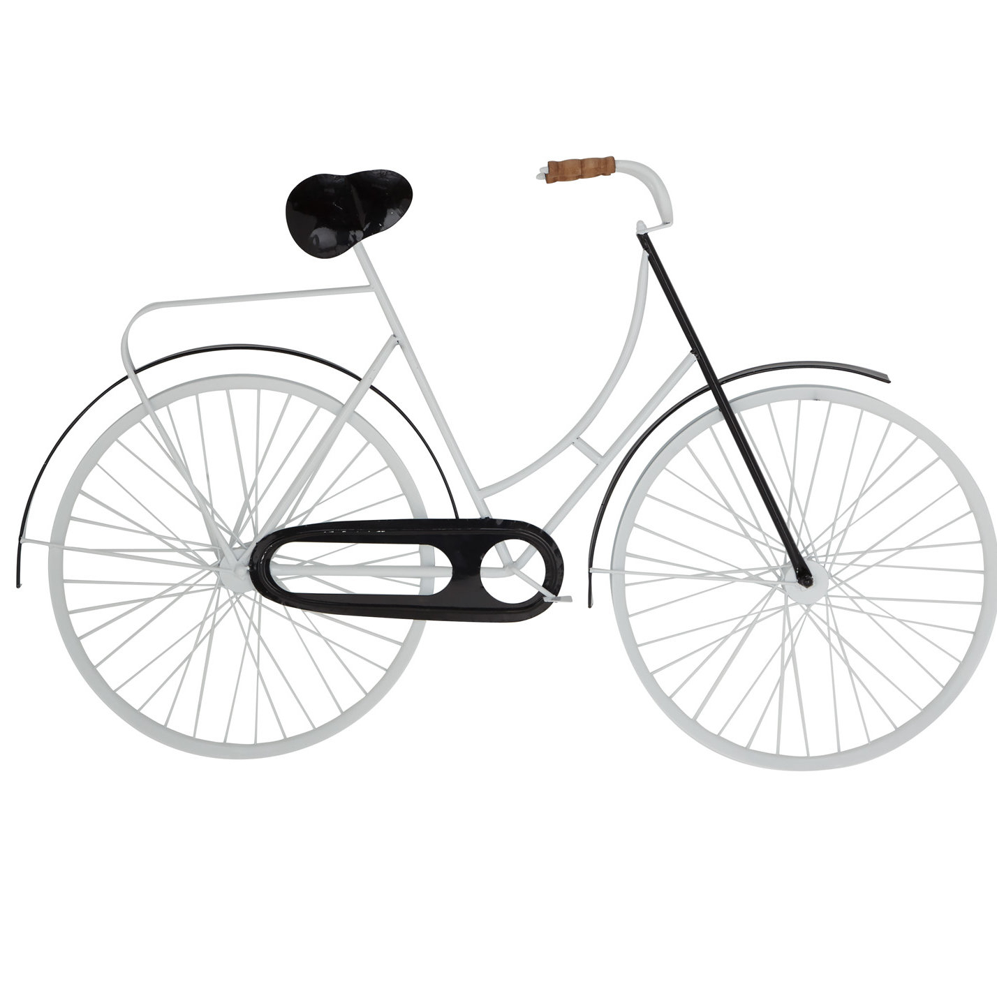 Current Bike Wall Decor By August Grove Throughout Wrought Studio Rustic Bicycle Iron Wall Decor (View 8 of 20)