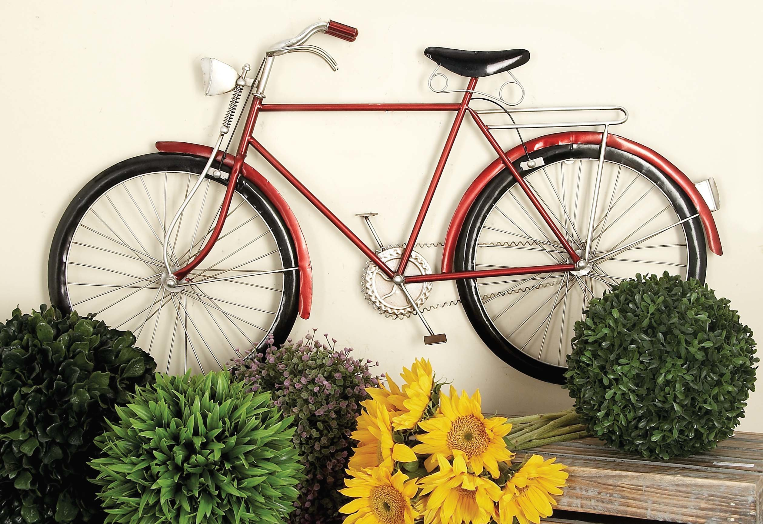 Current Cole & Grey Bike Wall Décor & Reviews (Gallery 8 of 20)