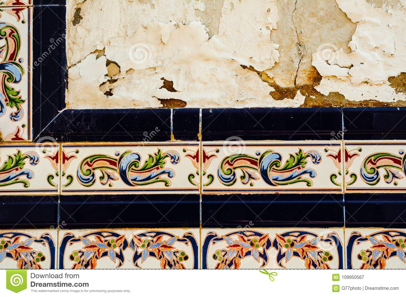 Current Traditional Ornamental Spanish Decorative Tiles, Original Ceramic With Spanish Ornamental Wall Decor (Gallery 20 of 20)