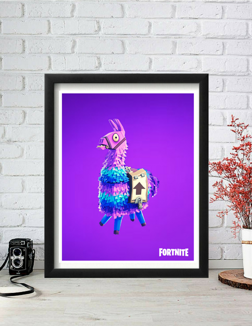 Dance Of Desire Wall Decor Intended For Widely Used Fortnite, Fortnite Poster, Loot Llama, Fortnite Meme, Fortnite Dance (View 6 of 20)