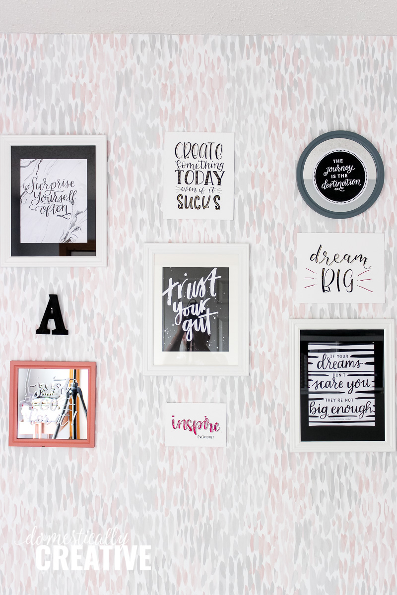 Domestically Creative With Regard To Rectangle Like Yourself Inspirational Typography Wall Plaque (View 3 of 20)