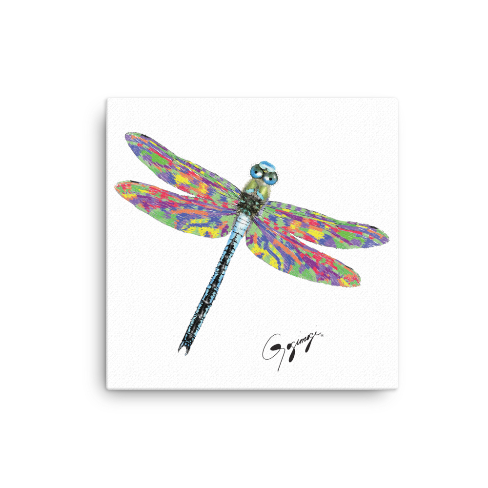 Dragonfly Wall Decor Intended For 2019 Dragonfly Wall Artgogimogi – Dragonfly Design On Canvas (View 8 of 20)