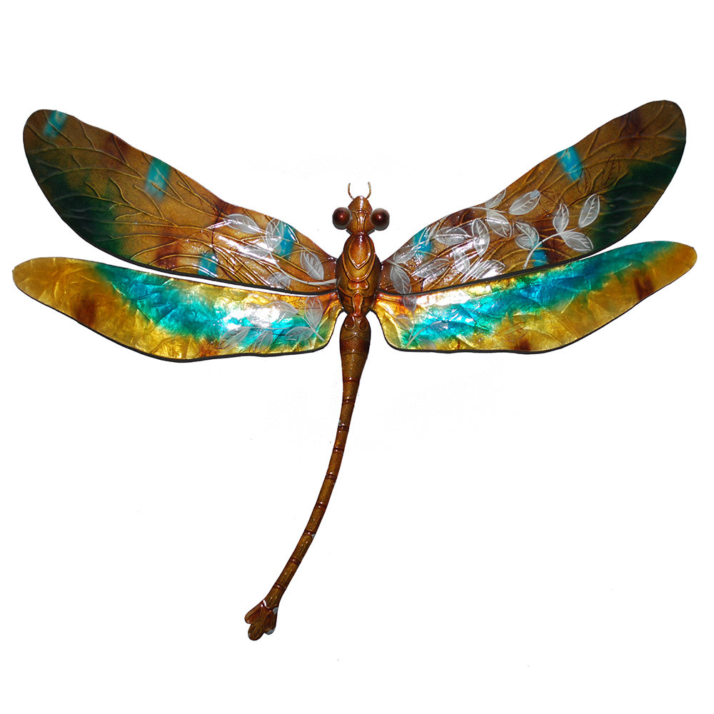Dragonfly Wall Decor Throughout Widely Used Eangee Home Design Dragonfly Wall Décor (View 11 of 20)