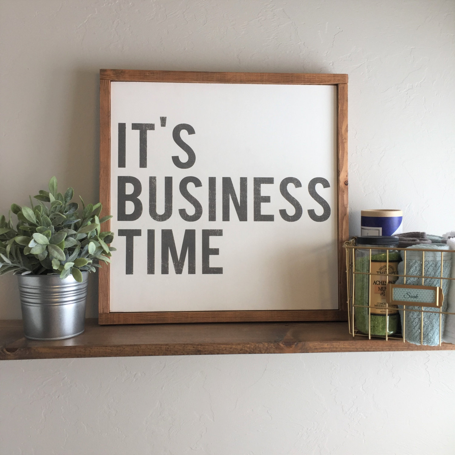 Etsy Inside 2019 Let Whatever You Do Today Be Enough Wood Wall Decor (View 5 of 20)