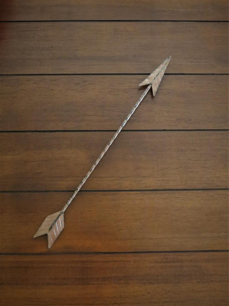 Etsy With Brown Metal Tribal Arrow Wall Decor (Gallery 3 of 20)