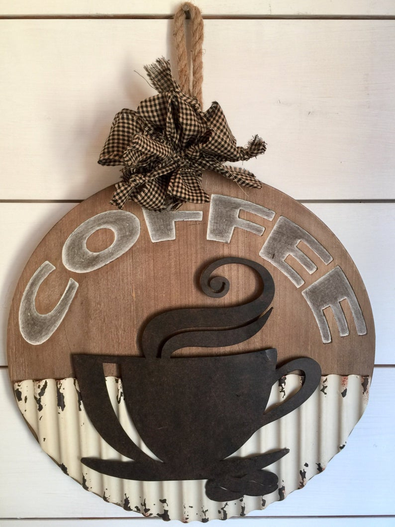 Etsy With Current Cup Of Joe Wall Decor (Gallery 3 of 20)