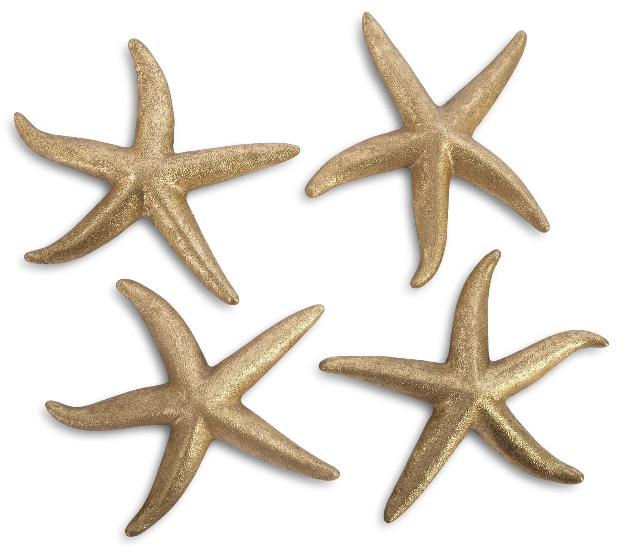 Fashionable Yelton 3 Piece Starfish Wall Decor Sets Inside 4 Piece Starfish Leaf Wall Decor Set (View 13 of 20)