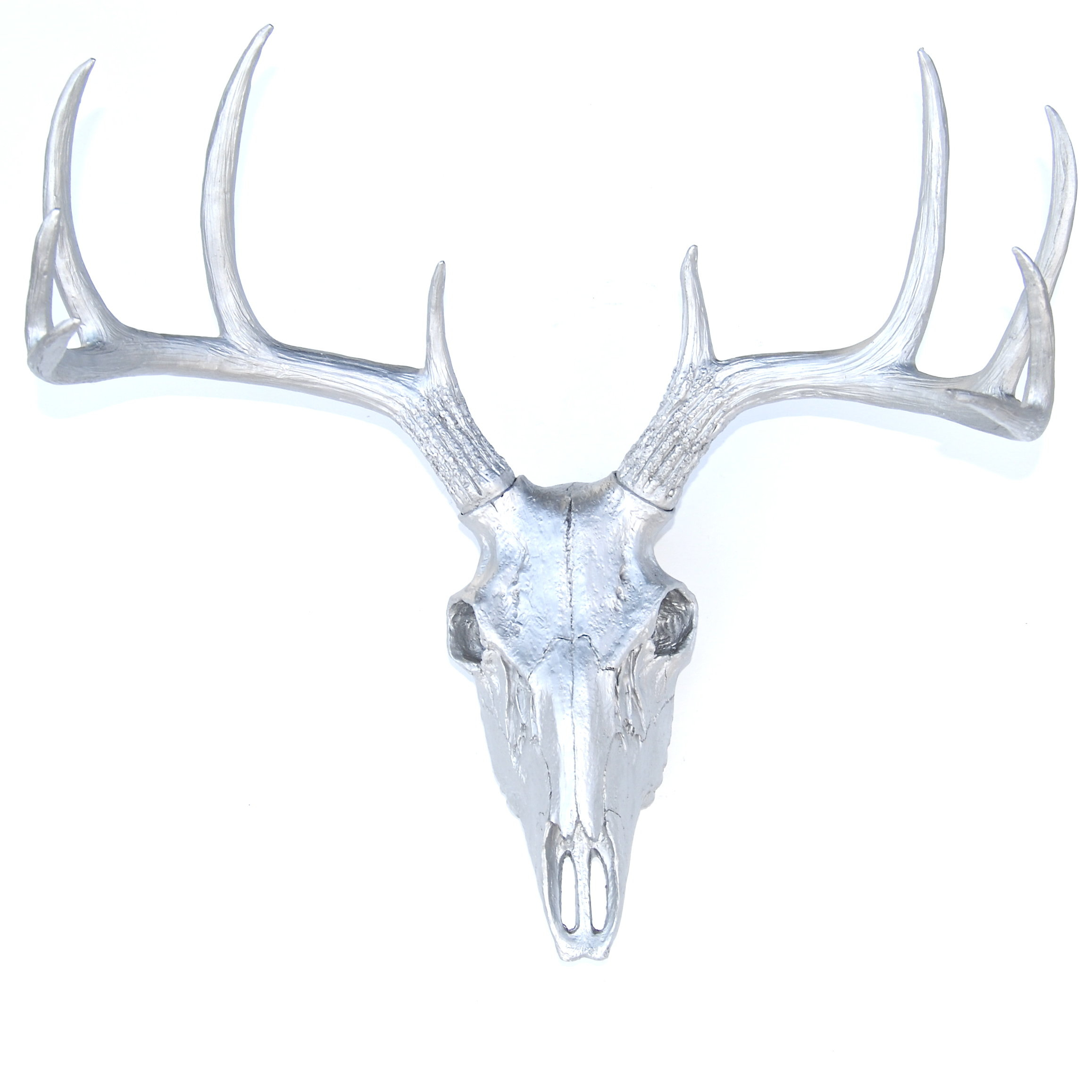 Faux Taxidermy Buck Skull Wall Décor (View 6 of 20)