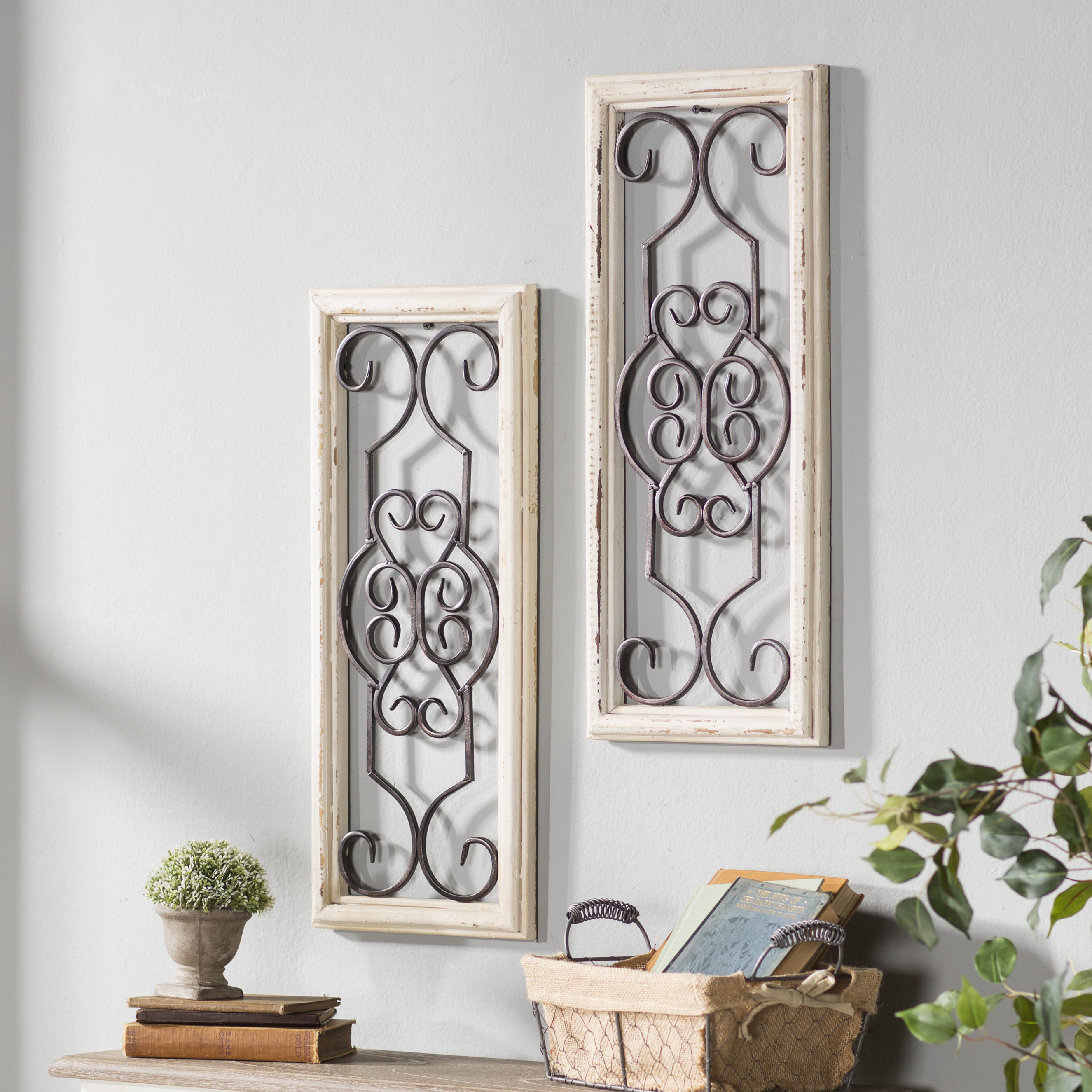 Favorite Lark Manor 1 Piece Ortie Panel Wall Décor & Reviews (View 5 of 20)
