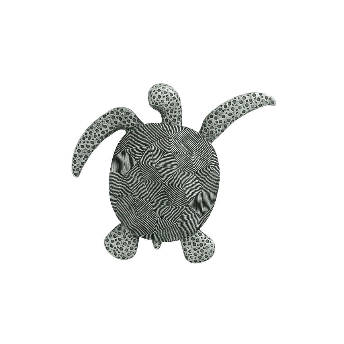 Favorite Rhys Turtle Decor Wall Decor Within Studio 350 Grey Polystone 2 Inches High X 17 Inches Wide Sea Turtle (View 5 of 20)
