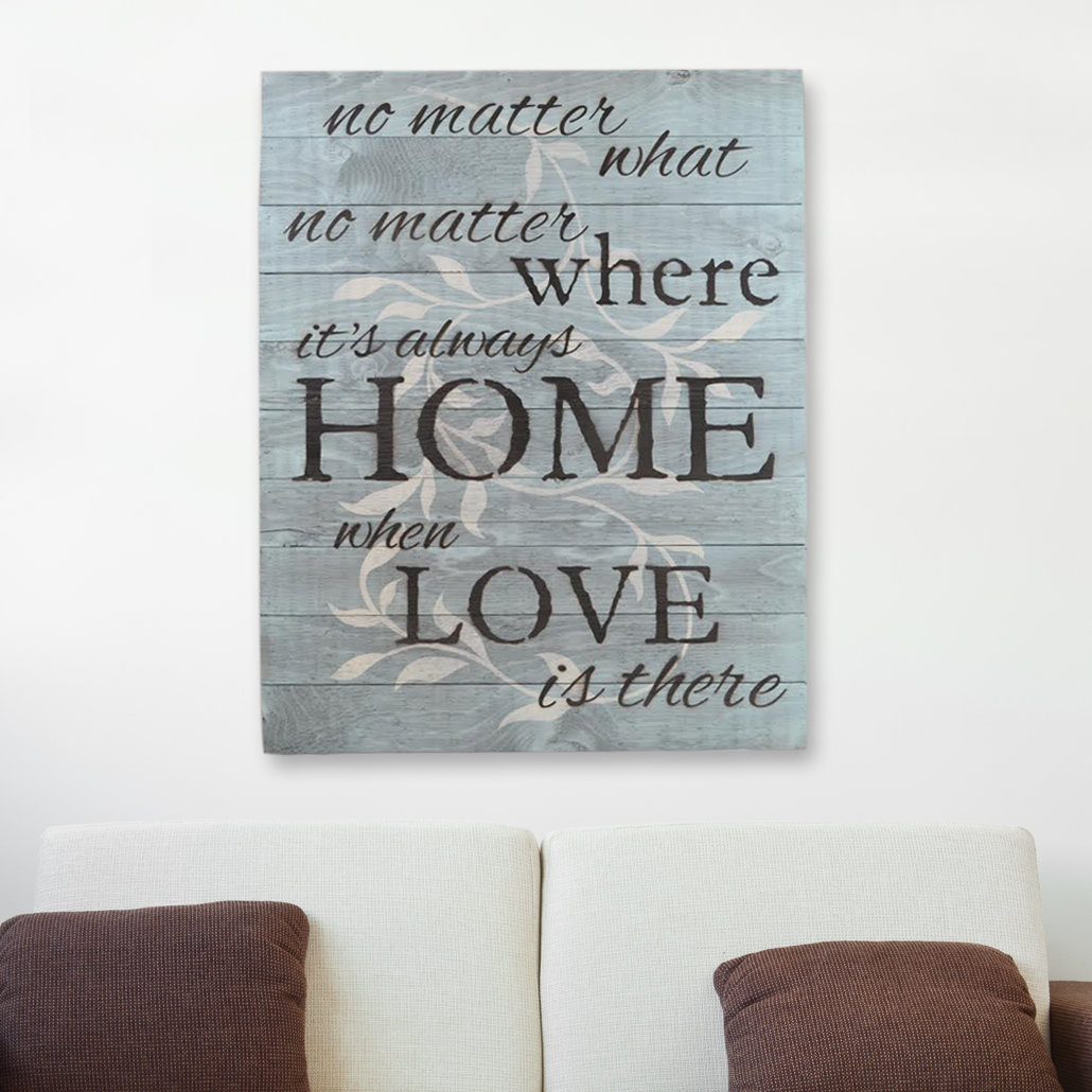 "Firesidehome In A Word ""no Matter What, No Matter Where, Its Always Regarding Famous In A Word ""welcome"" Wall Decor By Fireside Home (View 6 of 20)"