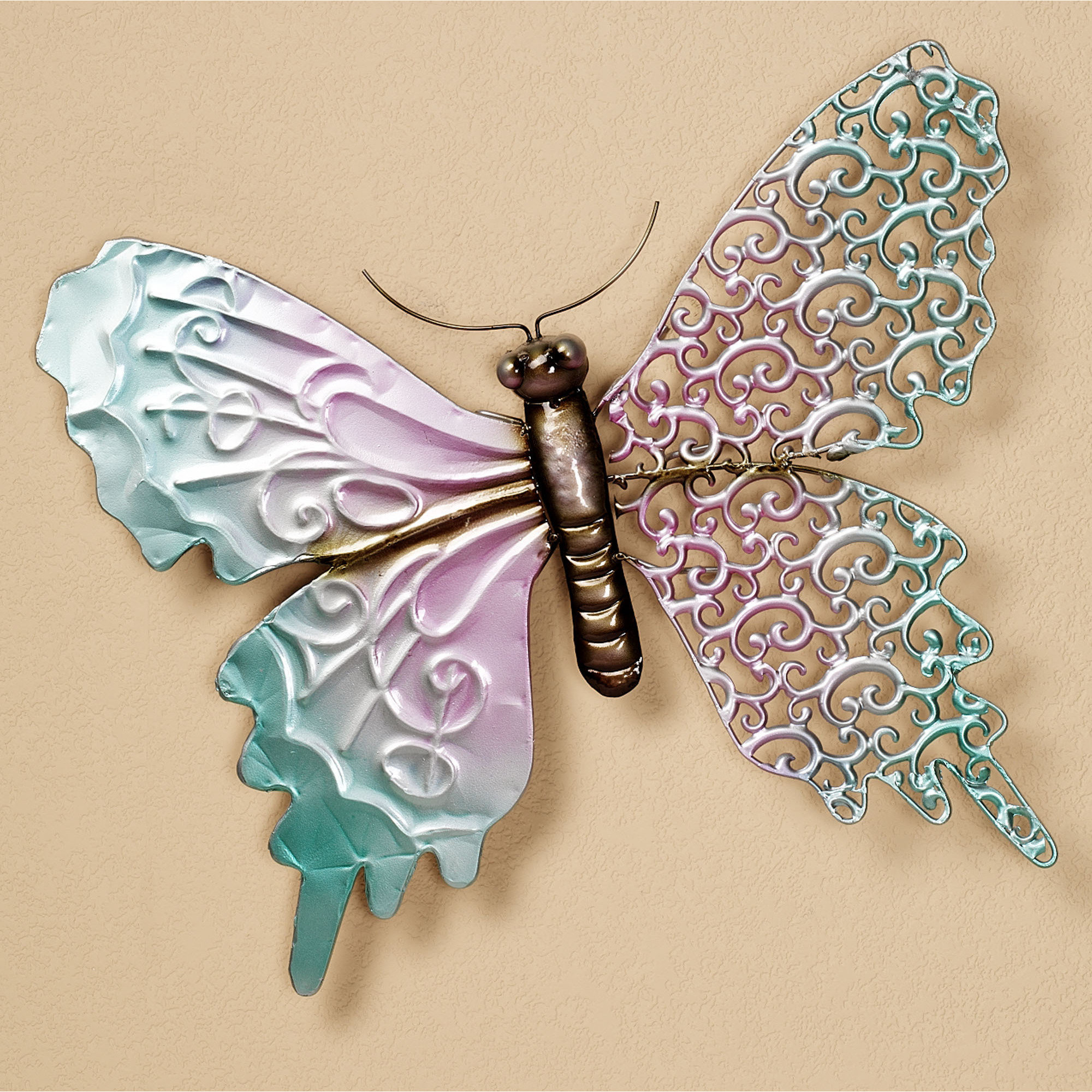 Ila Metal Butterfly Wall Decor Regarding Most Recent 25 Magnanimous Butterfly Wall Decor That Gives You Pleasure (View 4 of 20)
