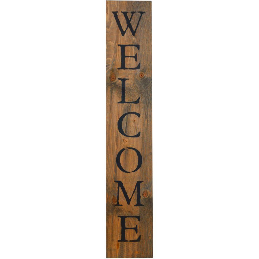 """In A Word """"welcome"""" Wall Décor (Gallery 5 of 20)"""