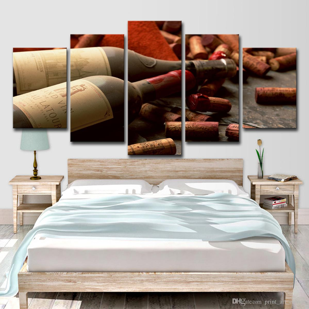 Latest 2019 Home Decor Hd Prints Pictures Kitchen Canvas Wall Art Poster Regarding Latour Wall Decor (View 8 of 20)