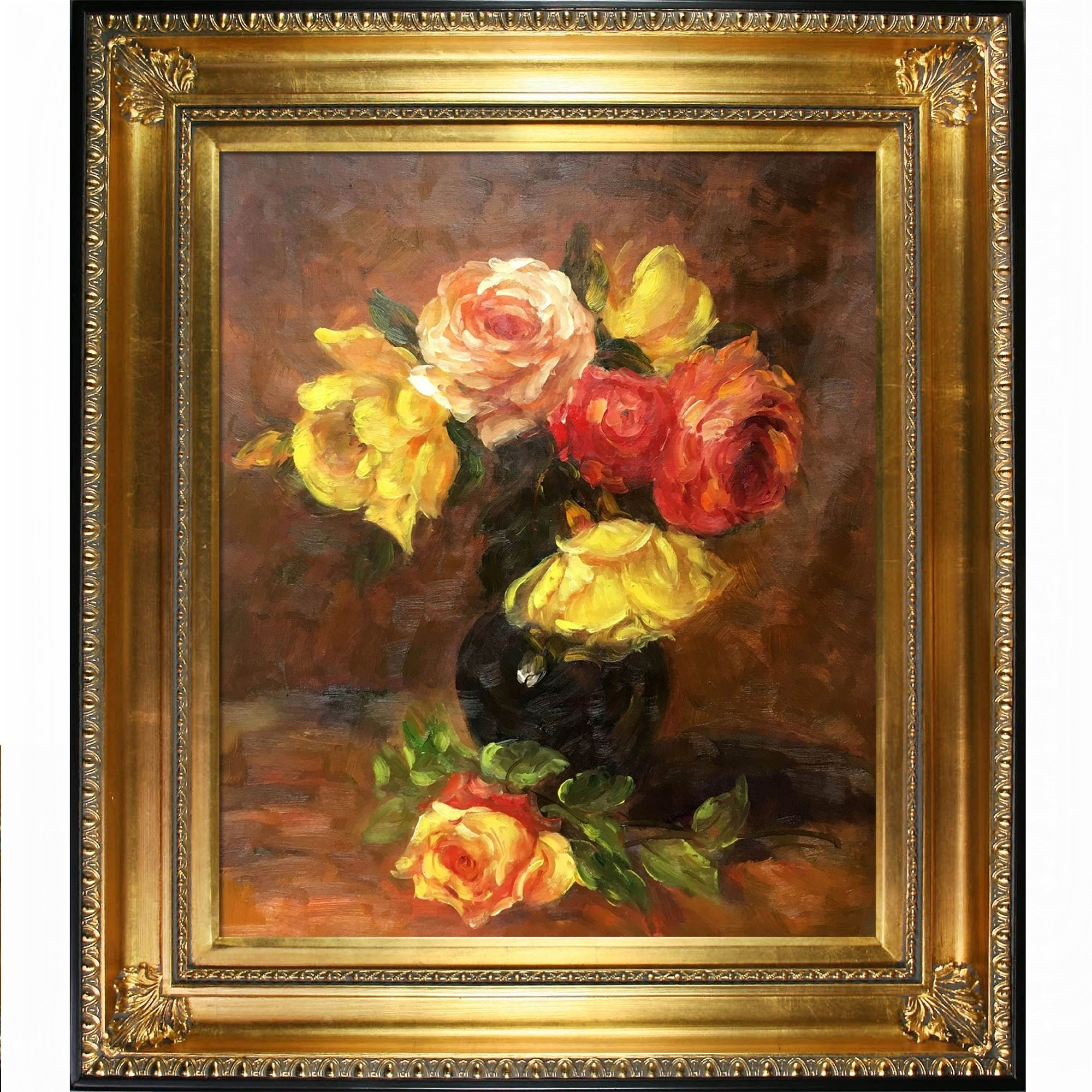Latour Wall Decor Throughout Well Known Shop La Pastiche White And Pink Roseshenri Fantin Latour With (View 11 of 20)