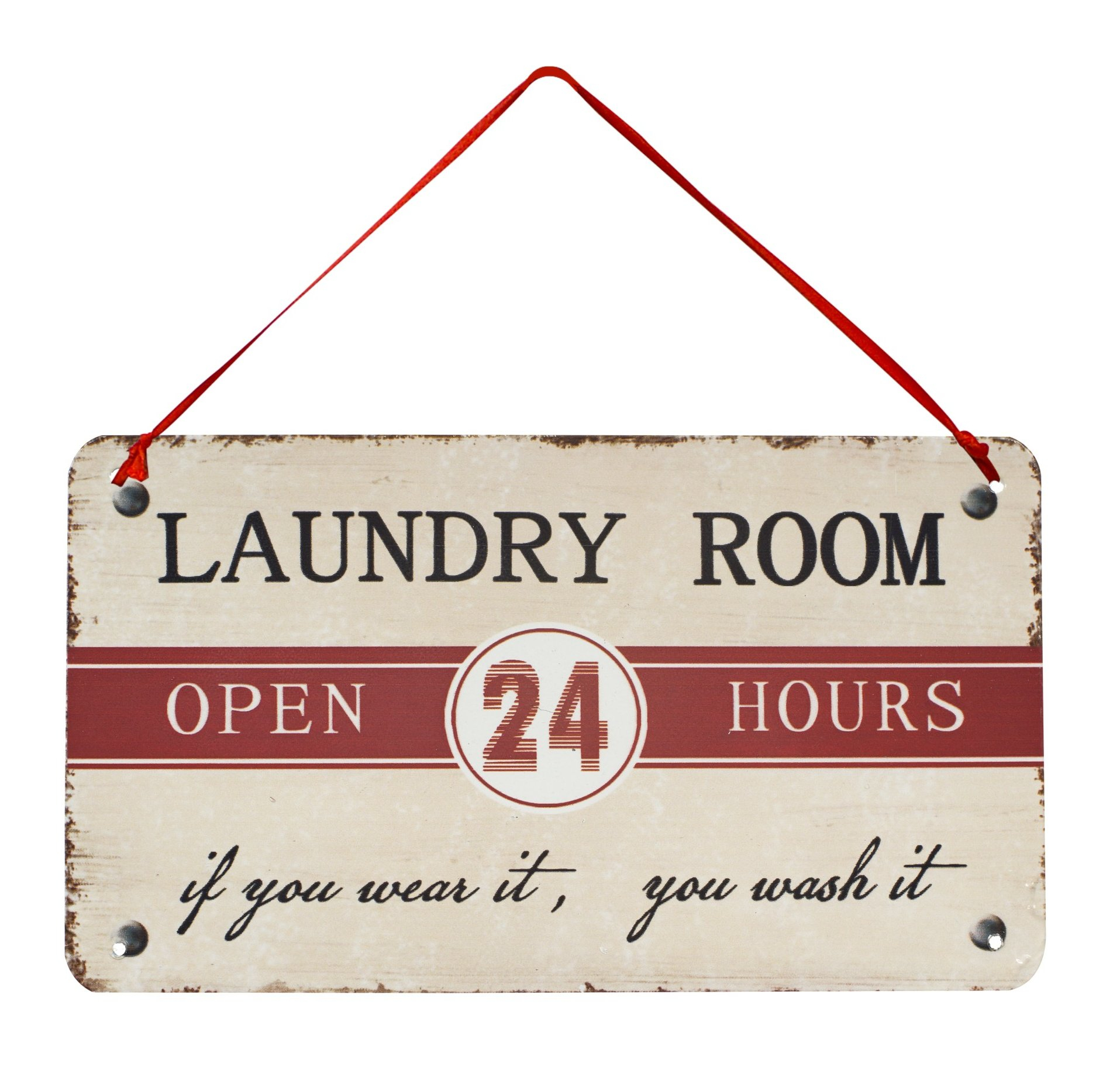 """Laundry Room"""" Antique Wisdom Sign Wall Décor & Reviews (View 11 of 20)"""