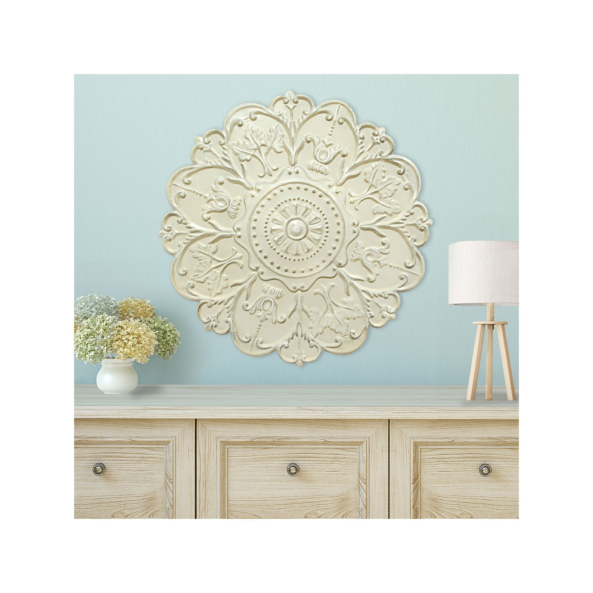 Most Current Shabby Medallion Wall Decor With Stratton Home Decor Shabby Medallion Wall Decor – Artofit (View 4 of 20)