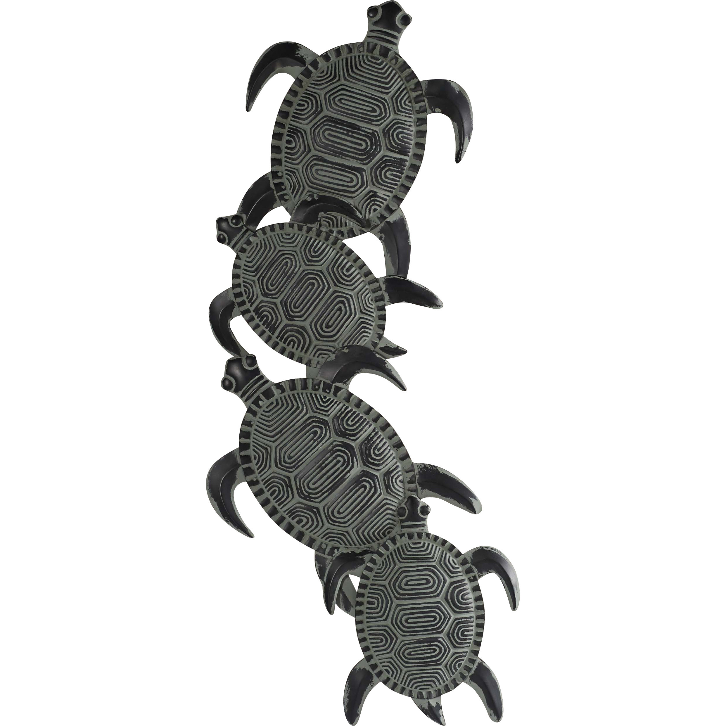Most Recently Released Beachcrest Home Rhys Turtle Decor Wall Dcor Reviews, Tortoise Wall With Rhys Turtle Decor Wall Decor (View 6 of 20)