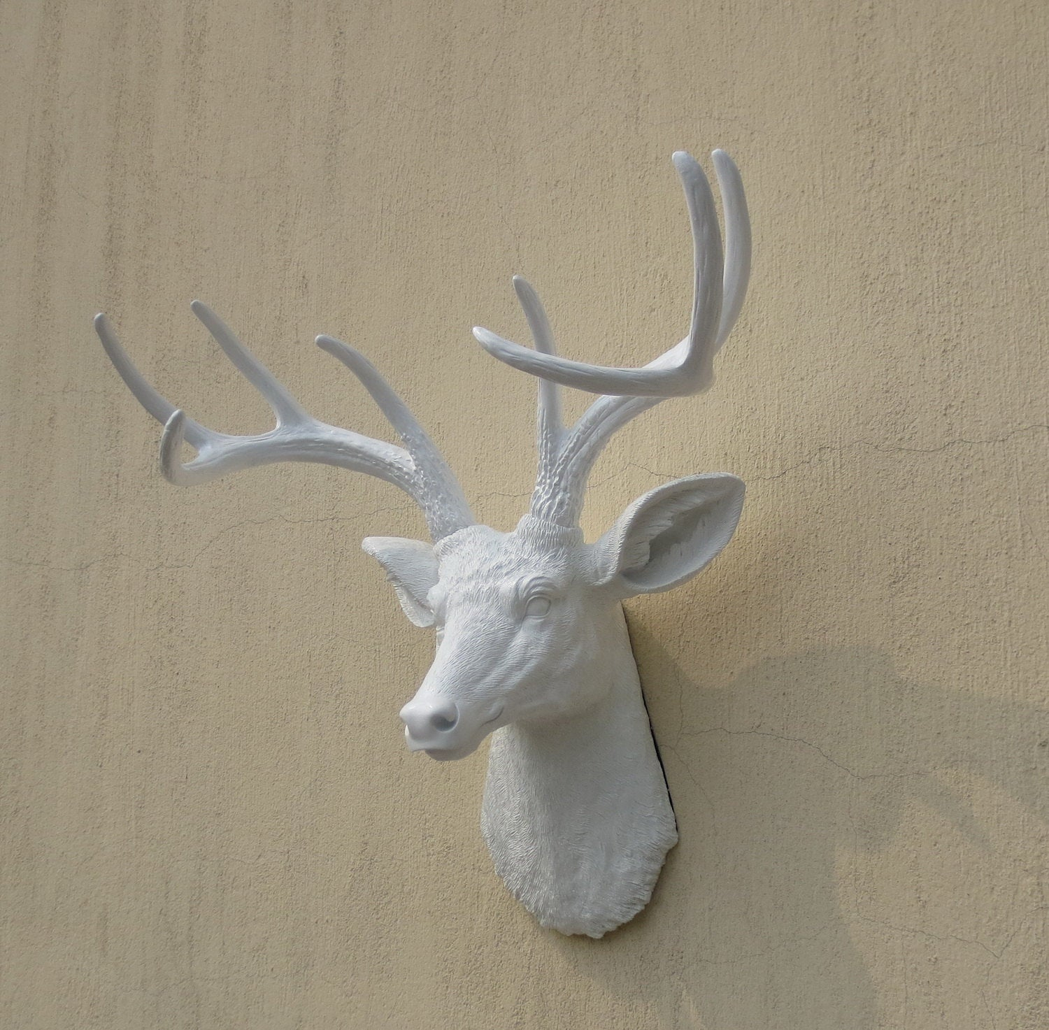 Most Recently Released Faux Animal Head Wall Decor – Pmpresssecretariat Within Large Deer Head Faux Taxidermy Wall Decor (View 12 of 20)
