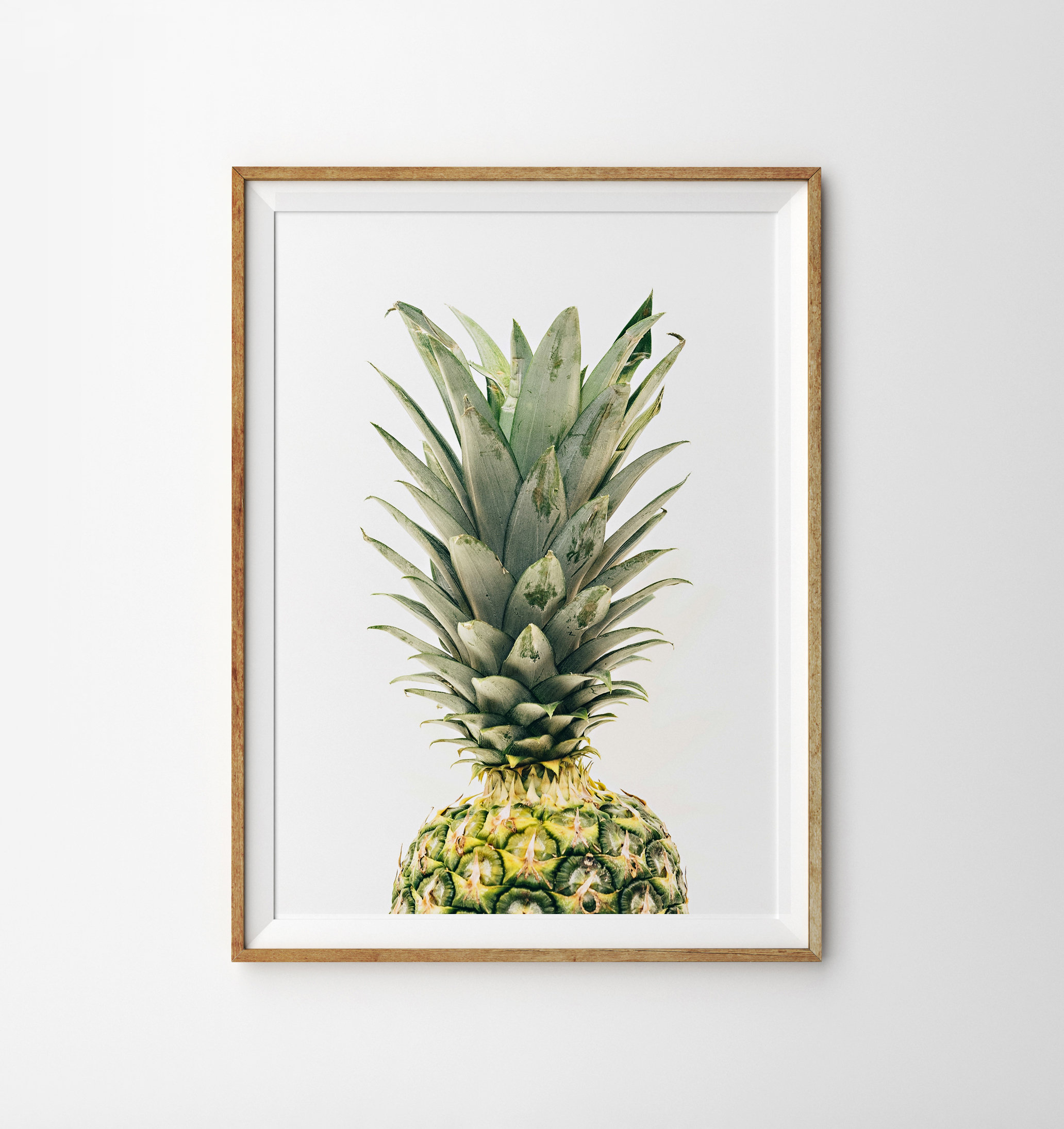 Most Recently Released Pineapple Wall Decor Regarding Pineapple Print Pineapple Wall Art Pineapple Decor Tropical (View 6 of 20)