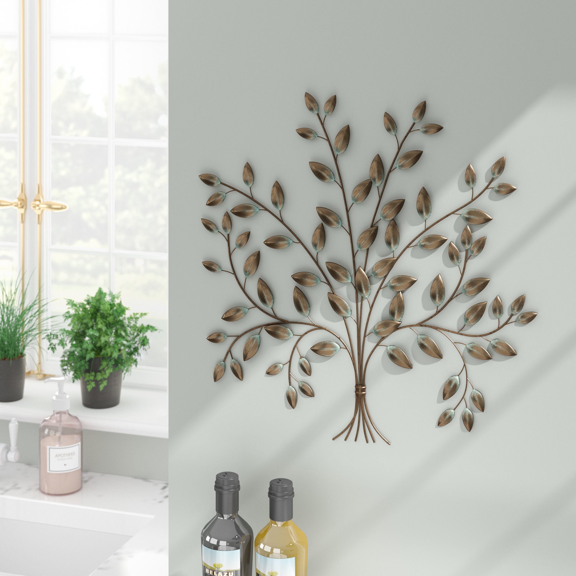 Most Up To Date Desford Leaf Wall Decor By Charlton Home For Tree Of Life Wall Décor (View 12 of 20)