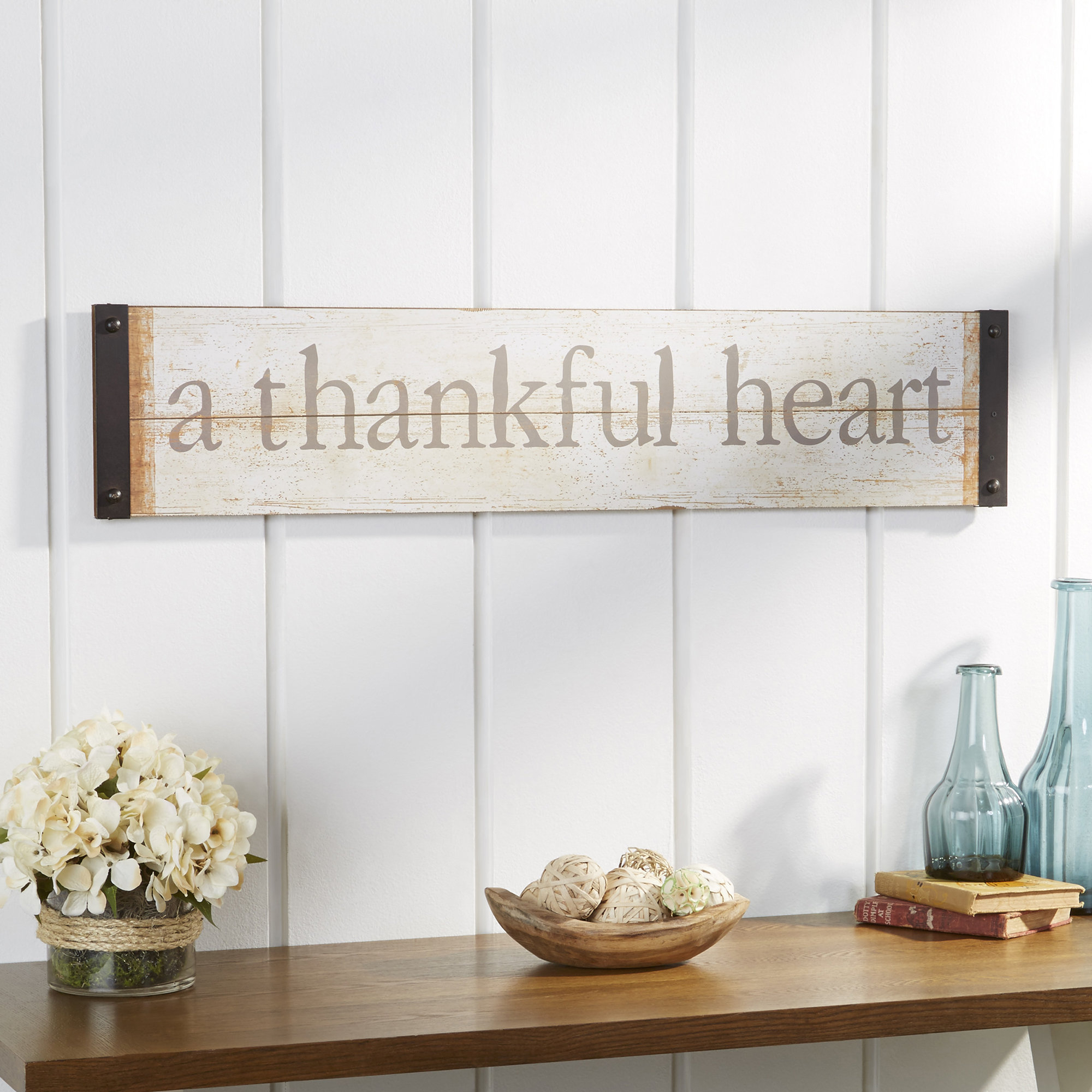 Most Up To Date Fawcett Thankful Heart Wall Decor With Fawcett Thankful Heart Wall Décor & Reviews (View 2 of 20)