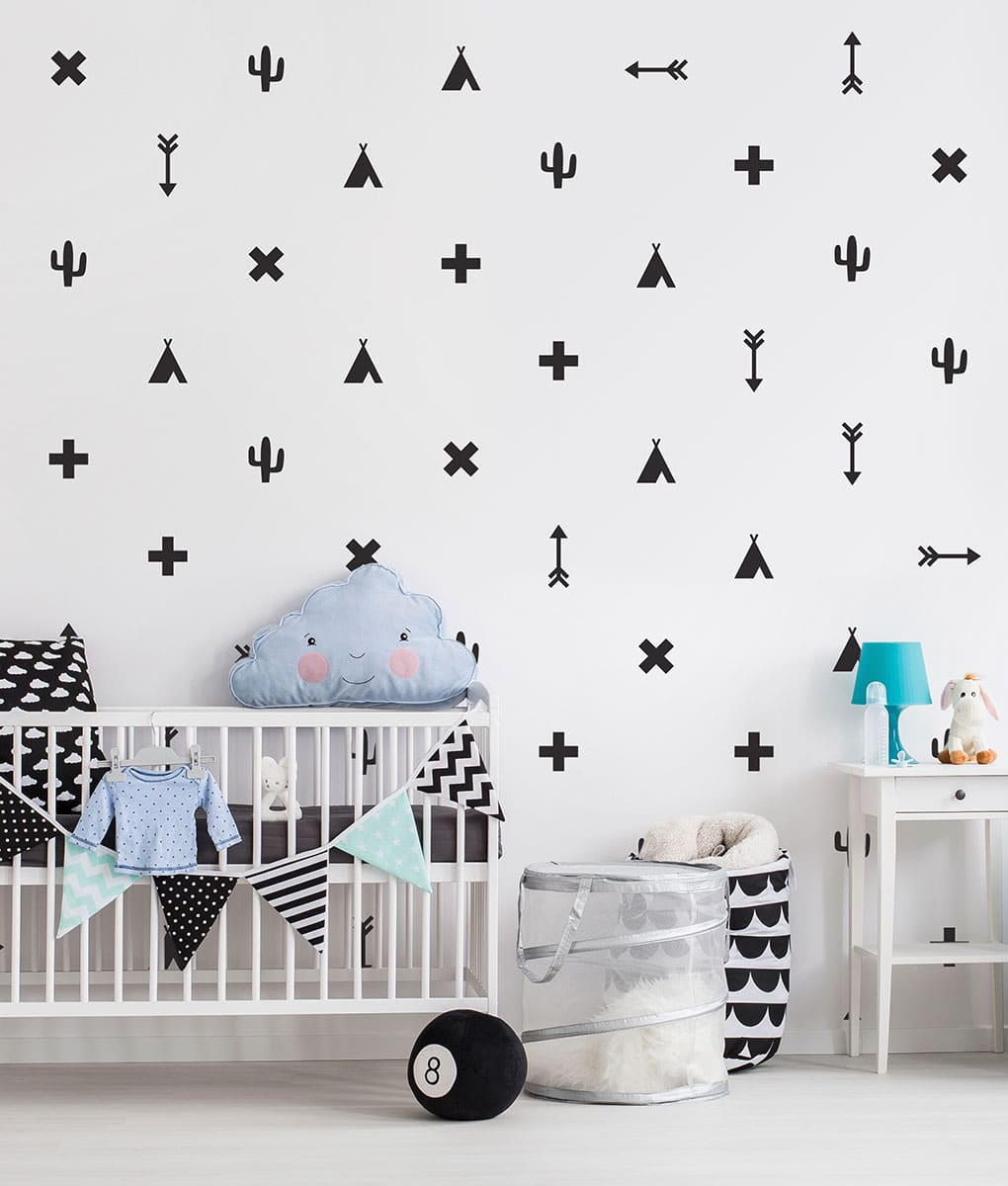 Most Up To Date Teepee Wall Decals & Stickers (View 18 of 20)