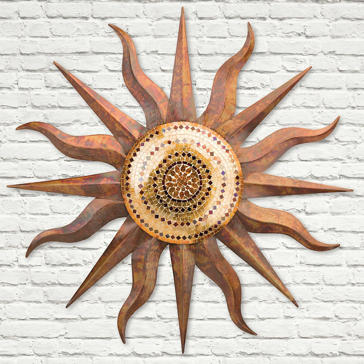 Nature Metal Sun Wall Decor In Most Recent Western Metal Art Wall Hangings (Gallery 7 of 20)