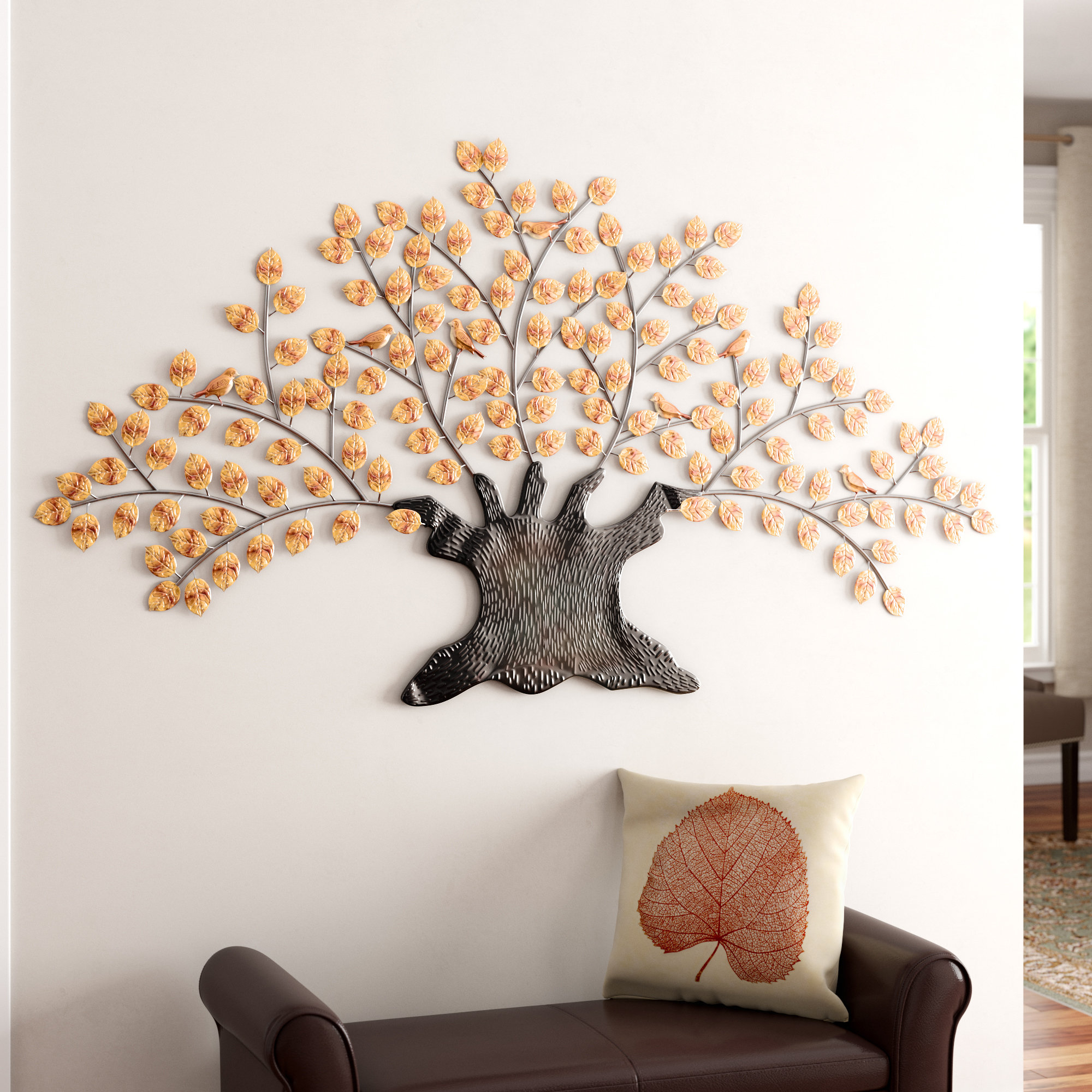 Newest Darby Home Co Wetherden Tree Wall Décor & Reviews (Gallery 1 of 20)