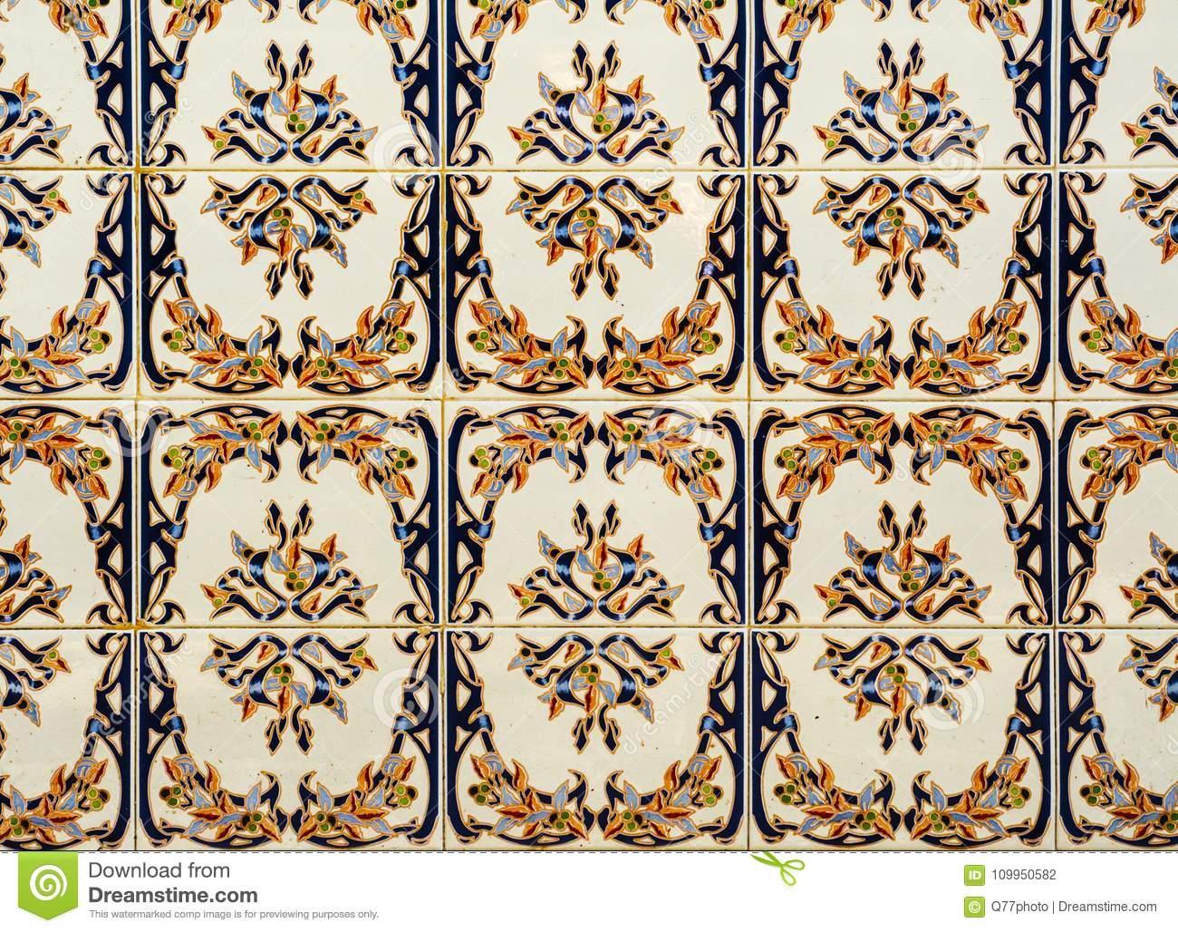 Newest Traditional Ornamental Spanish Decorative Tiles, Original Ceramic Throughout Spanish Ornamental Wall Decor (Gallery 9 of 20)