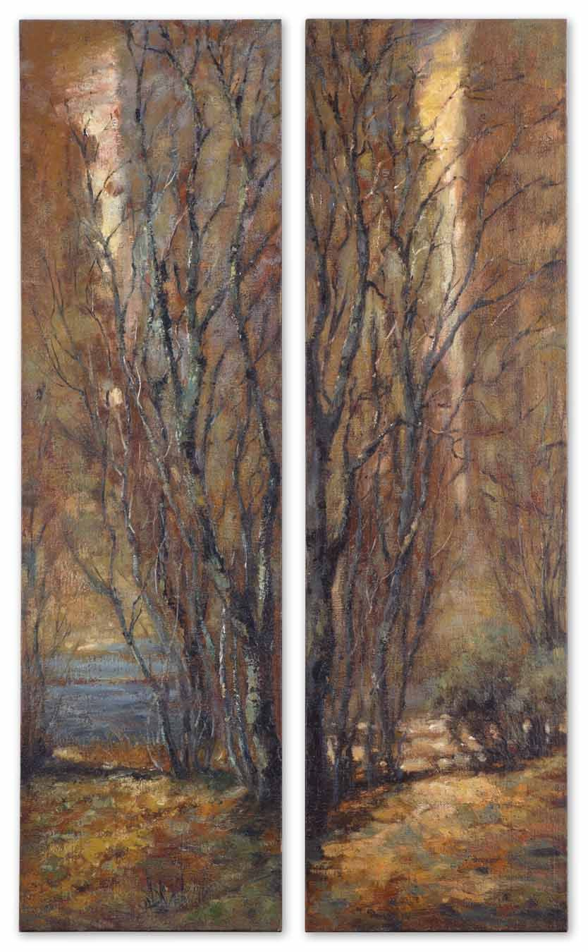 Panel Wall Art, Tree Wall Intended For Trendy Panel Wood Wall Decor Sets (Set Of 2) (View 11 of 20)