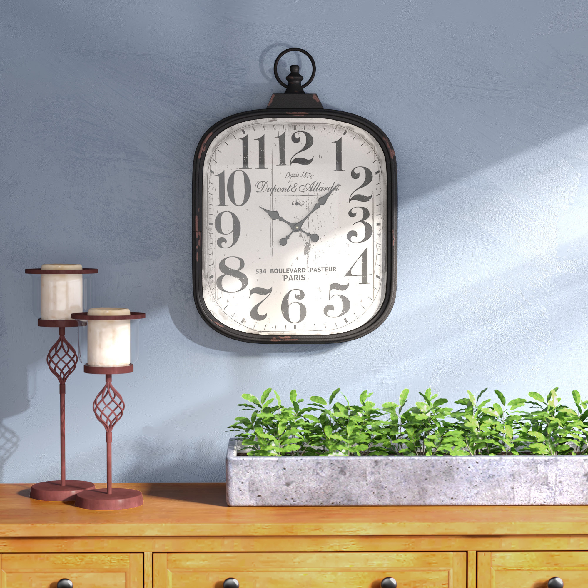 Popular Charlton Home Jellison Wall Clock & Reviews (Gallery 18 of 20)