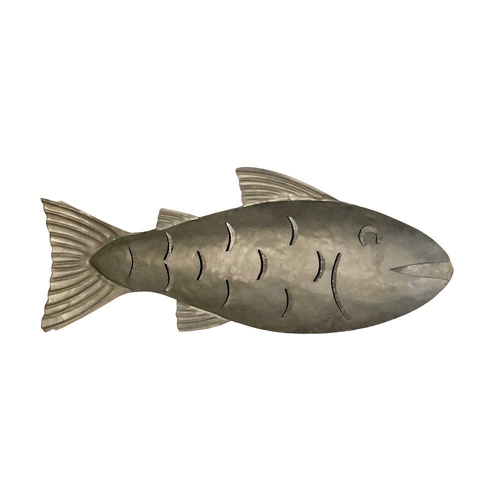 Popular Eangee Home Design Fish Galvanized Metal Wall Décor (View 11 of 20)