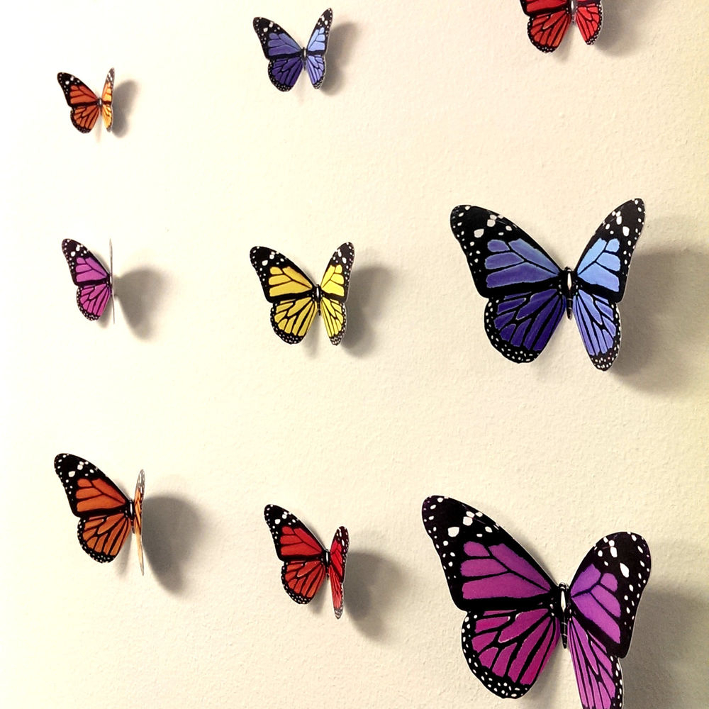 Popular Ila Metal Butterfly Wall Decor For 25 Magnanimous Butterfly Wall Decor That Gives You Pleasure (View 12 of 20)