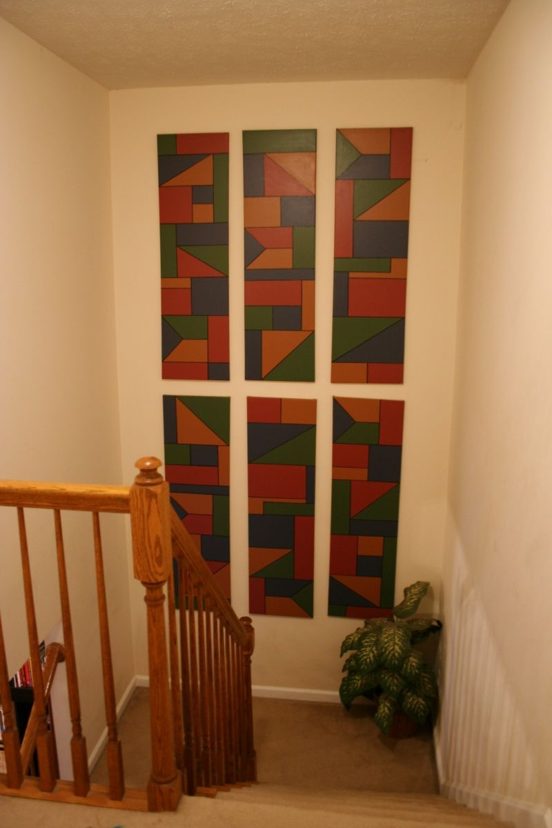 Preferred 25 Modern Staircase Landing Decorating Ideas To Get Inspired Pertaining To Landing Art Wall Decor (View 2 of 20)