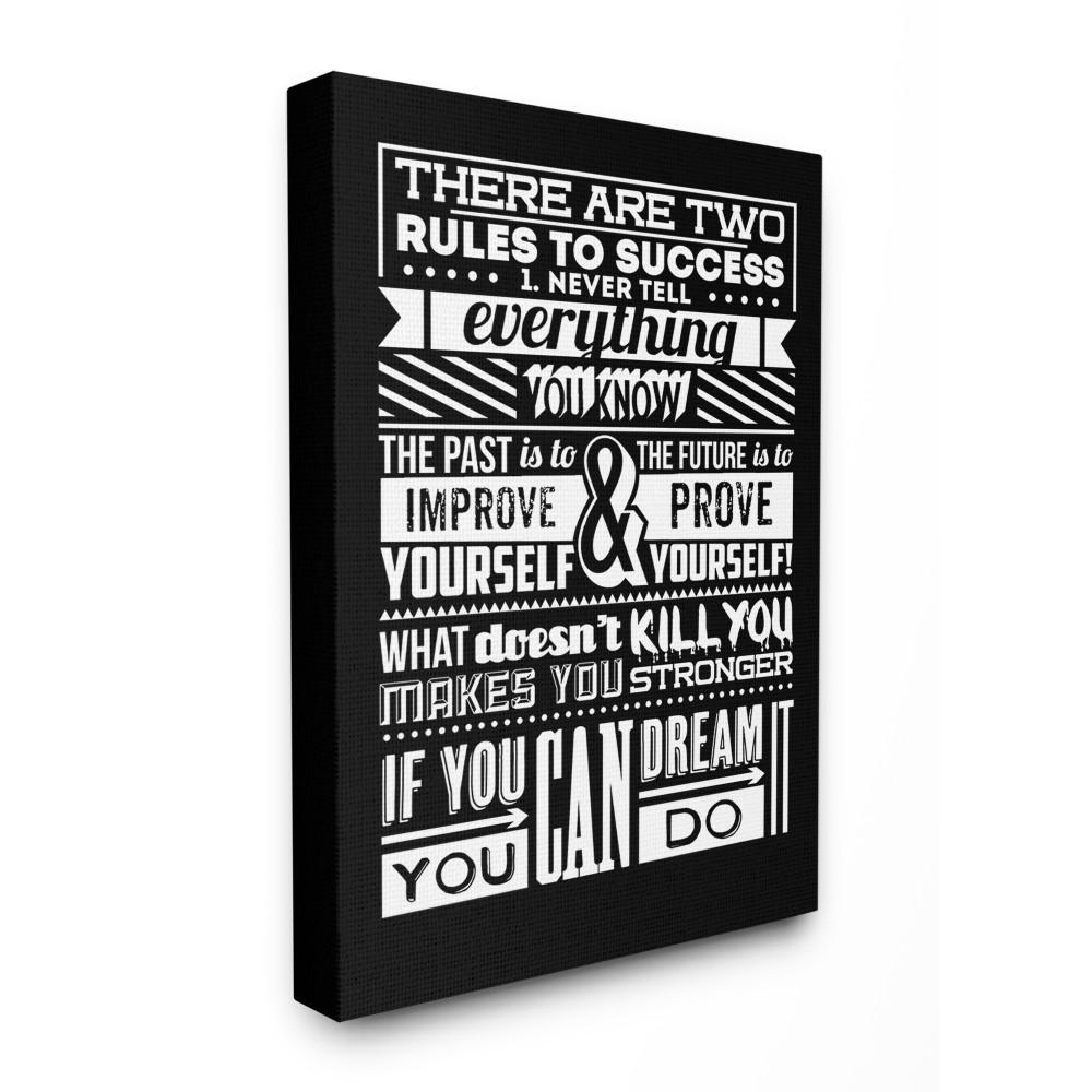 Preferred Rectangle Like Yourself Inspirational Typography Wall Plaque With The Stupell Home Decor Collection 30 In. X 40 In (View 13 of 20)