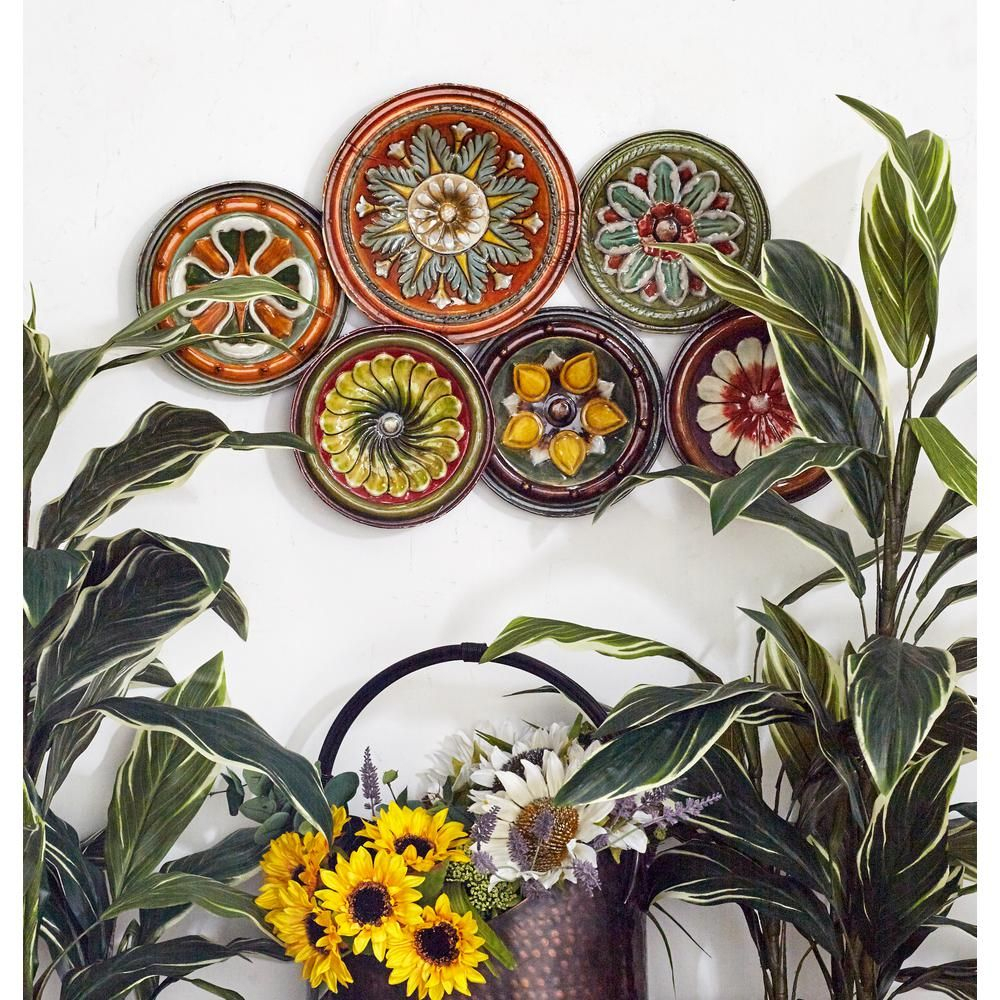 Products for Most Popular Scattered Metal Italian Plates Wall Decor