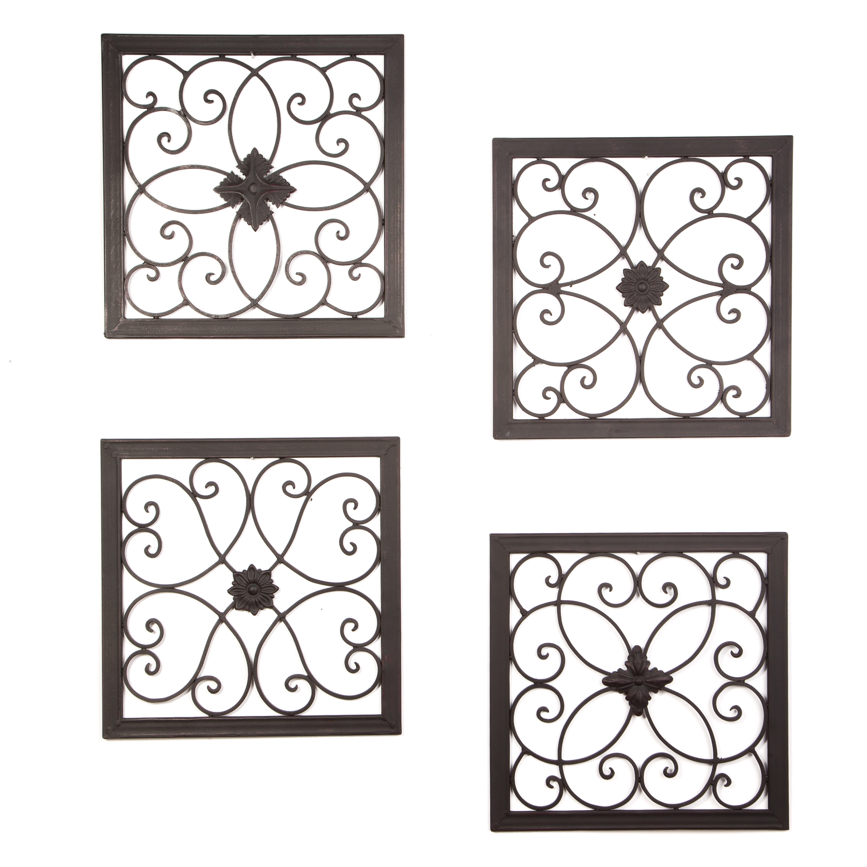Recent Byronanthonyhome 4 Piece Madeline Wall Décor Set & Reviews (Gallery 6 of 20)