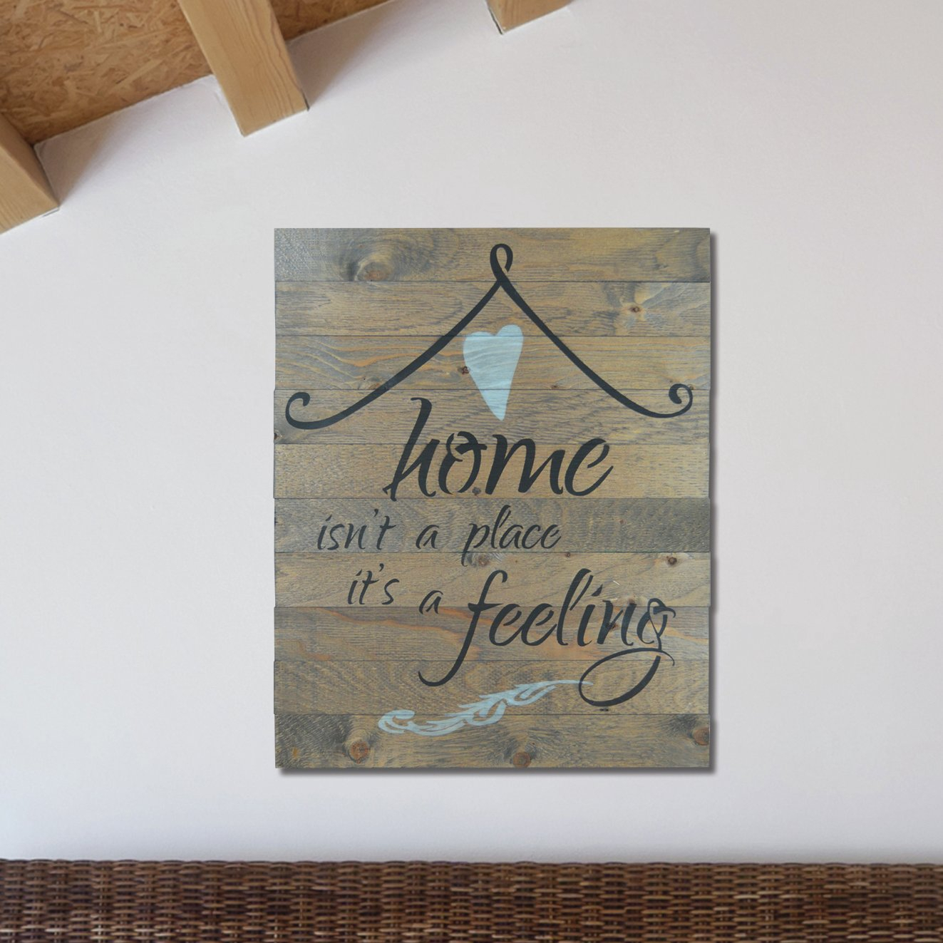 "Recent In A Word ""welcome"" Wall Decor By Fireside Home For Firesidehome In A Word ""home Isn't A Place, It's A Feeling"" Wall (Gallery 1 of 20)"