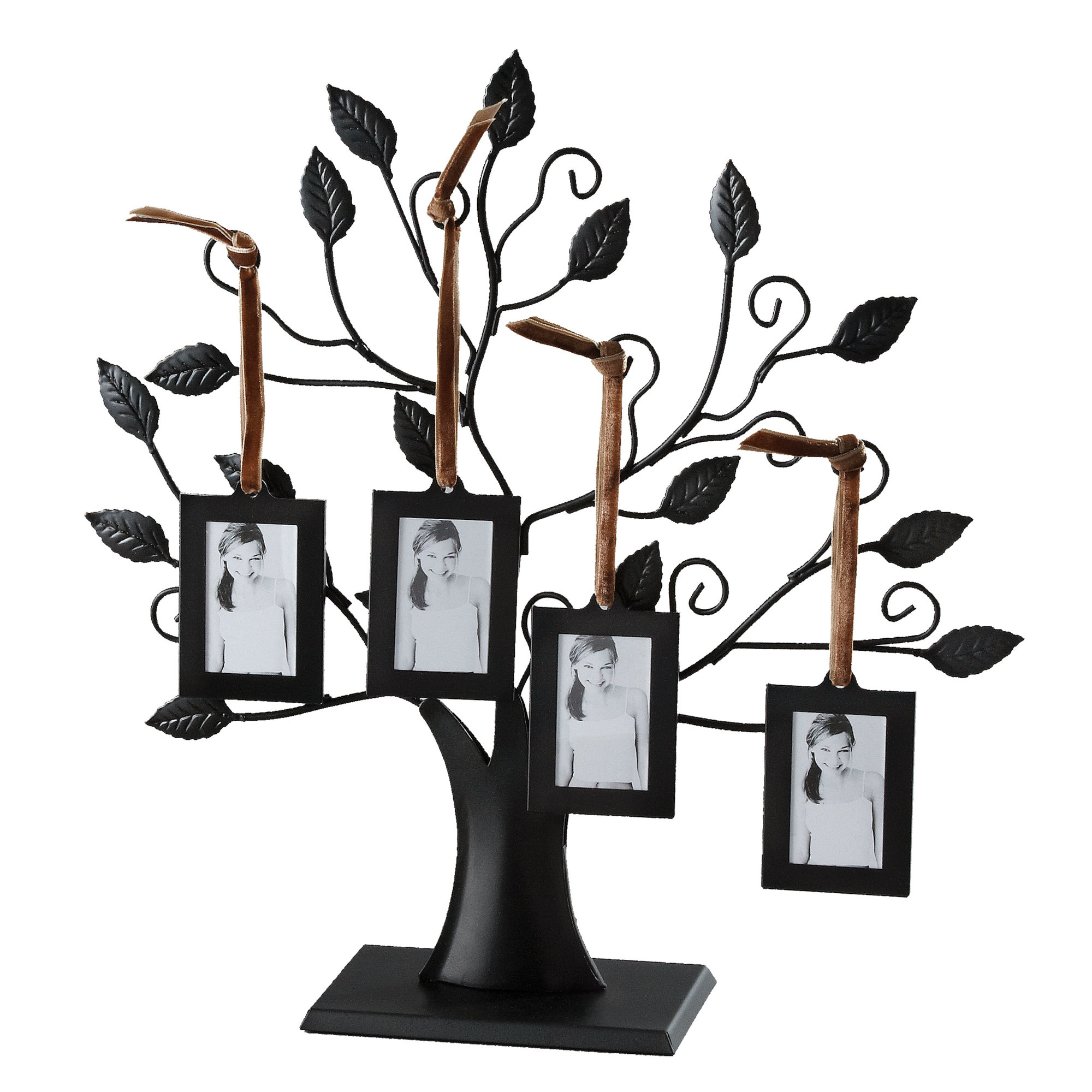 Red Barrel Studio Ilka Family Trees And Card Picture Frame Intended For 2020 Tree Of Life Wall Decor By Red Barrel Studio (Gallery 12 of 20)