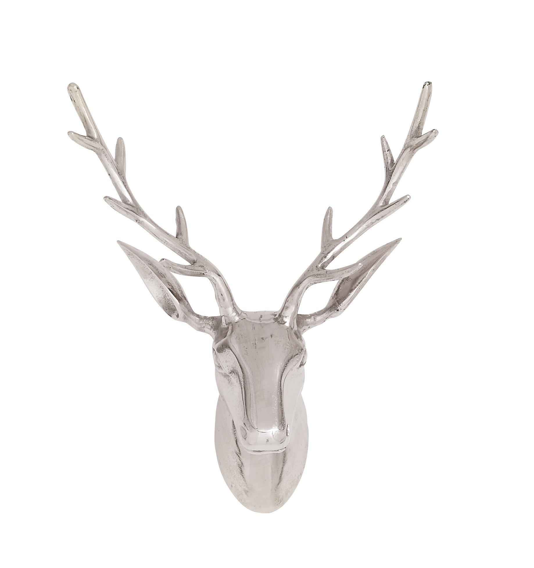 Reindeer Bust Wall Decor & Reviews (Gallery 4 of 20)
