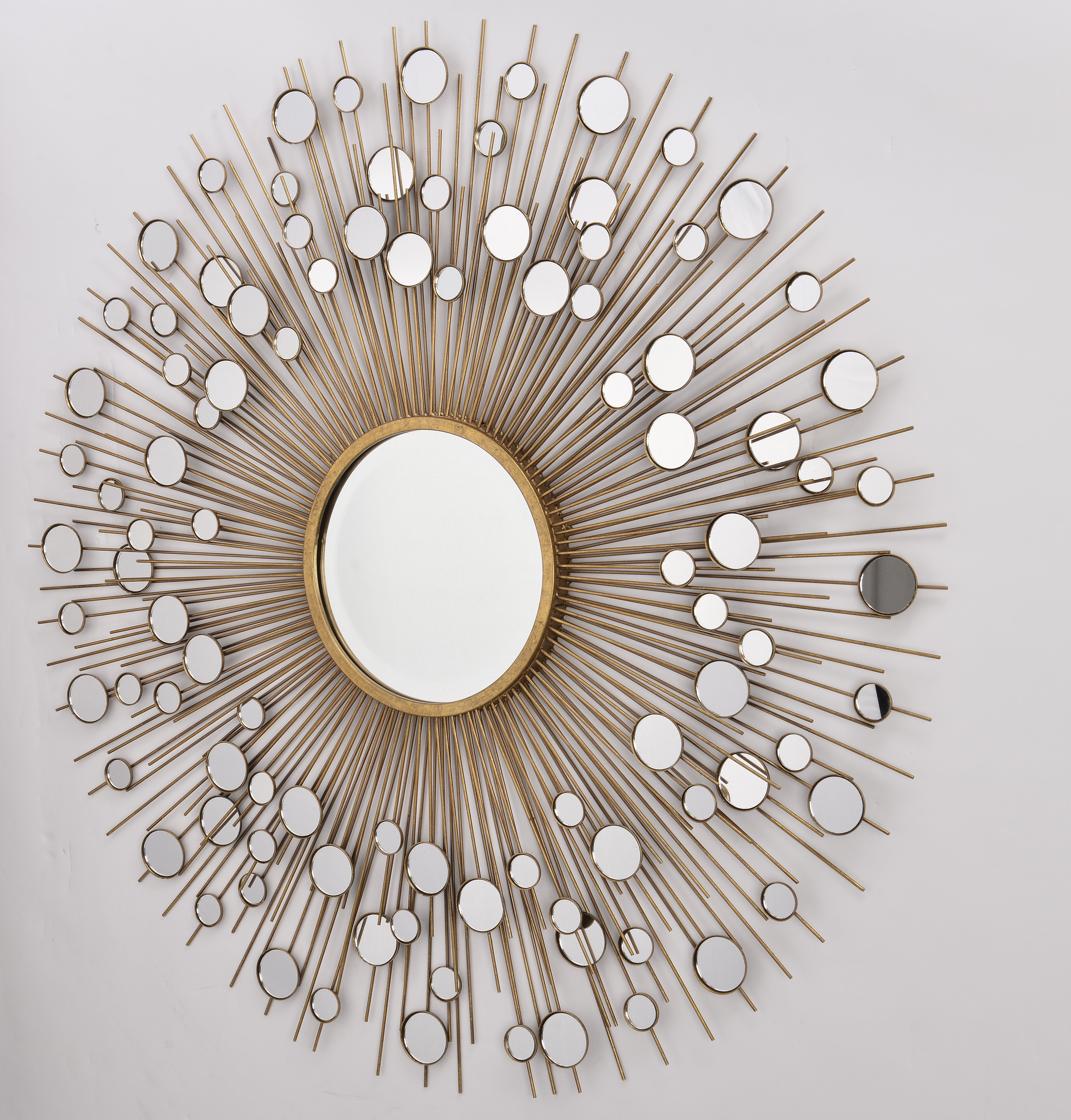Rings Wall Decor By Wrought Studio For Famous Wrought Studio Gerry Decorative Country Wall Mirror (View 9 of 20)