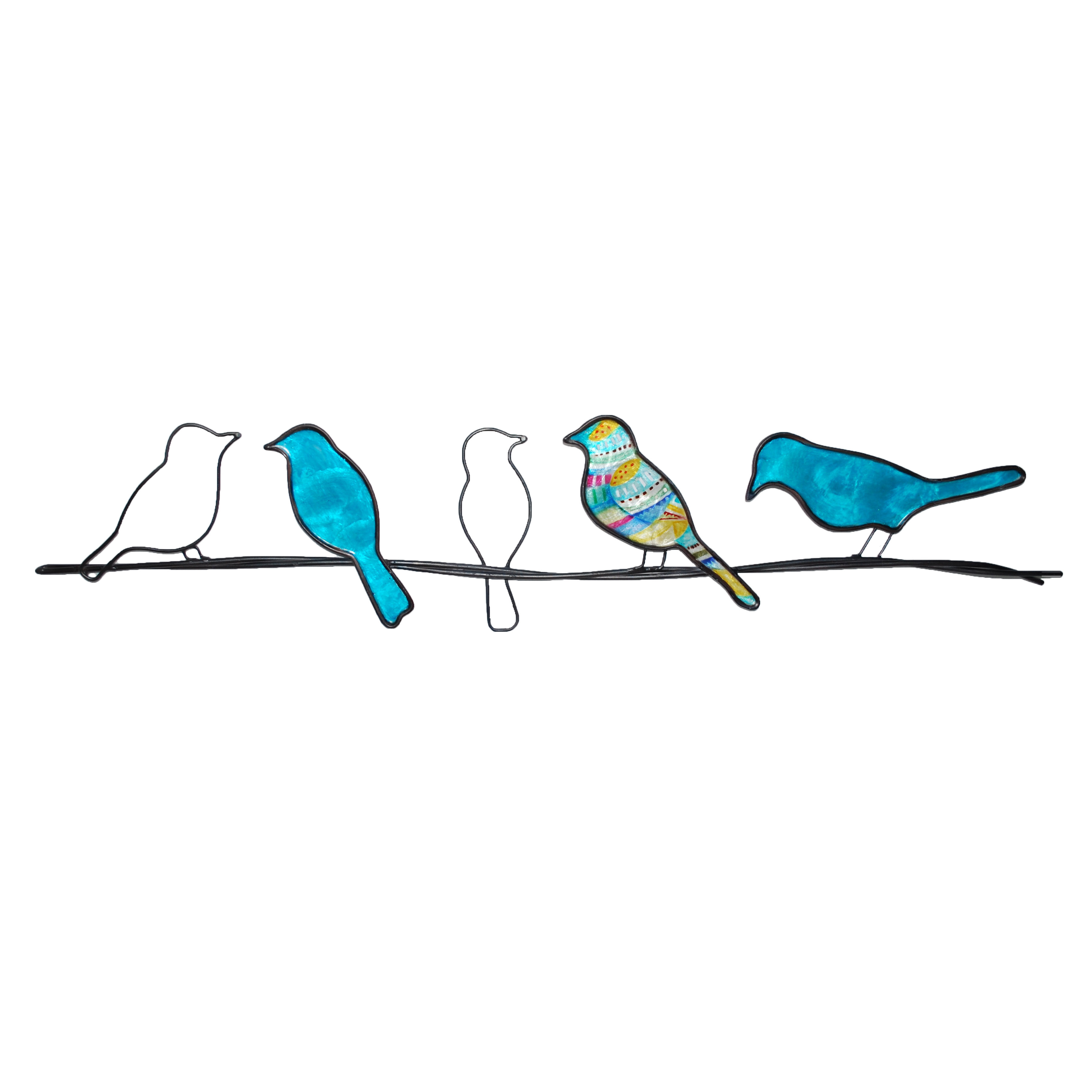 Rioux Birds On A Wire Wall Decor Pertaining To Most Popular Winston Porter Modern Birds On A Wire Wall Décor (Gallery 17 of 20)
