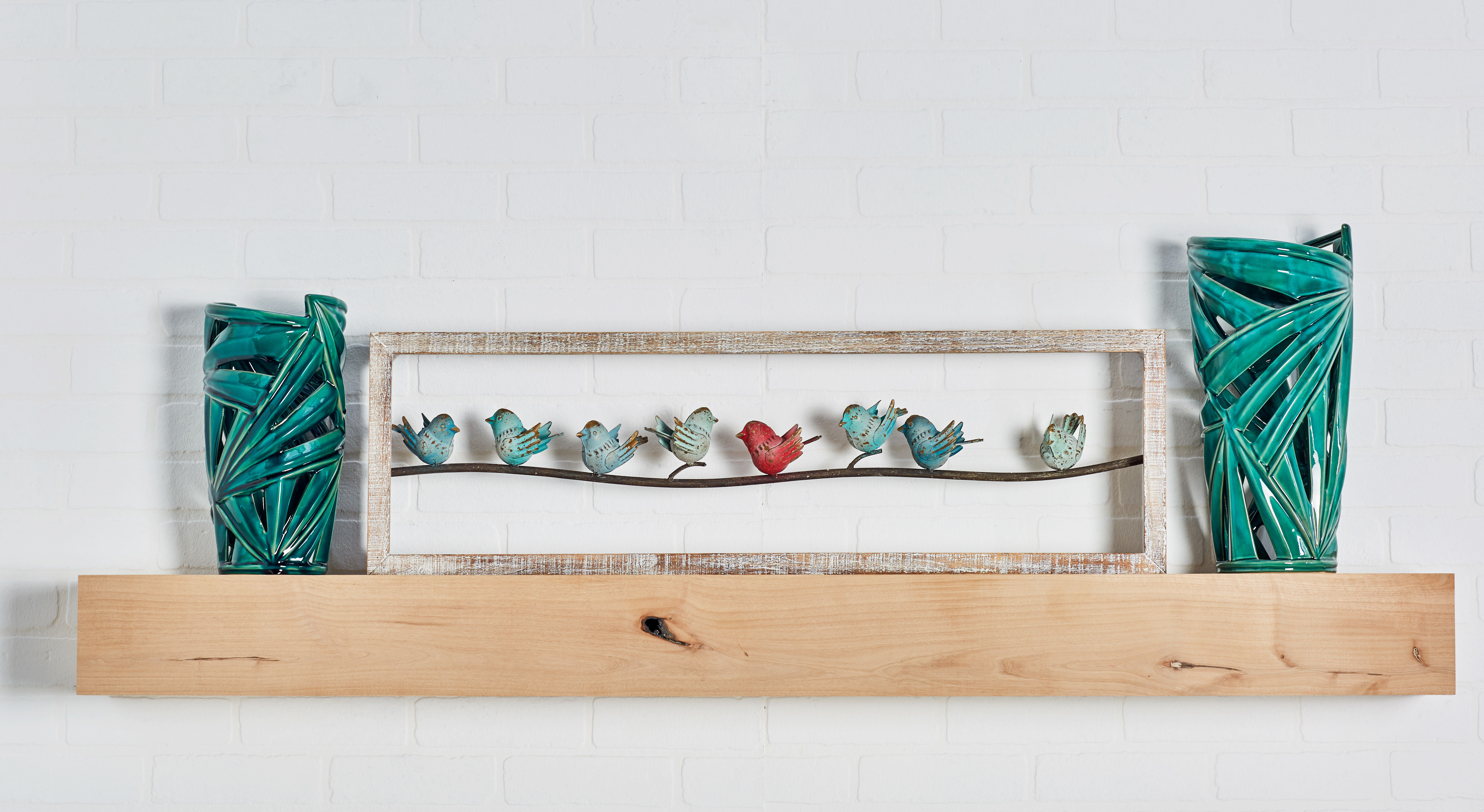 Rioux Birds On A Wire Wall Decor Regarding Well Known August Grove Natural Perched Birds On Wire Wall Decor & Reviews (Gallery 13 of 20)