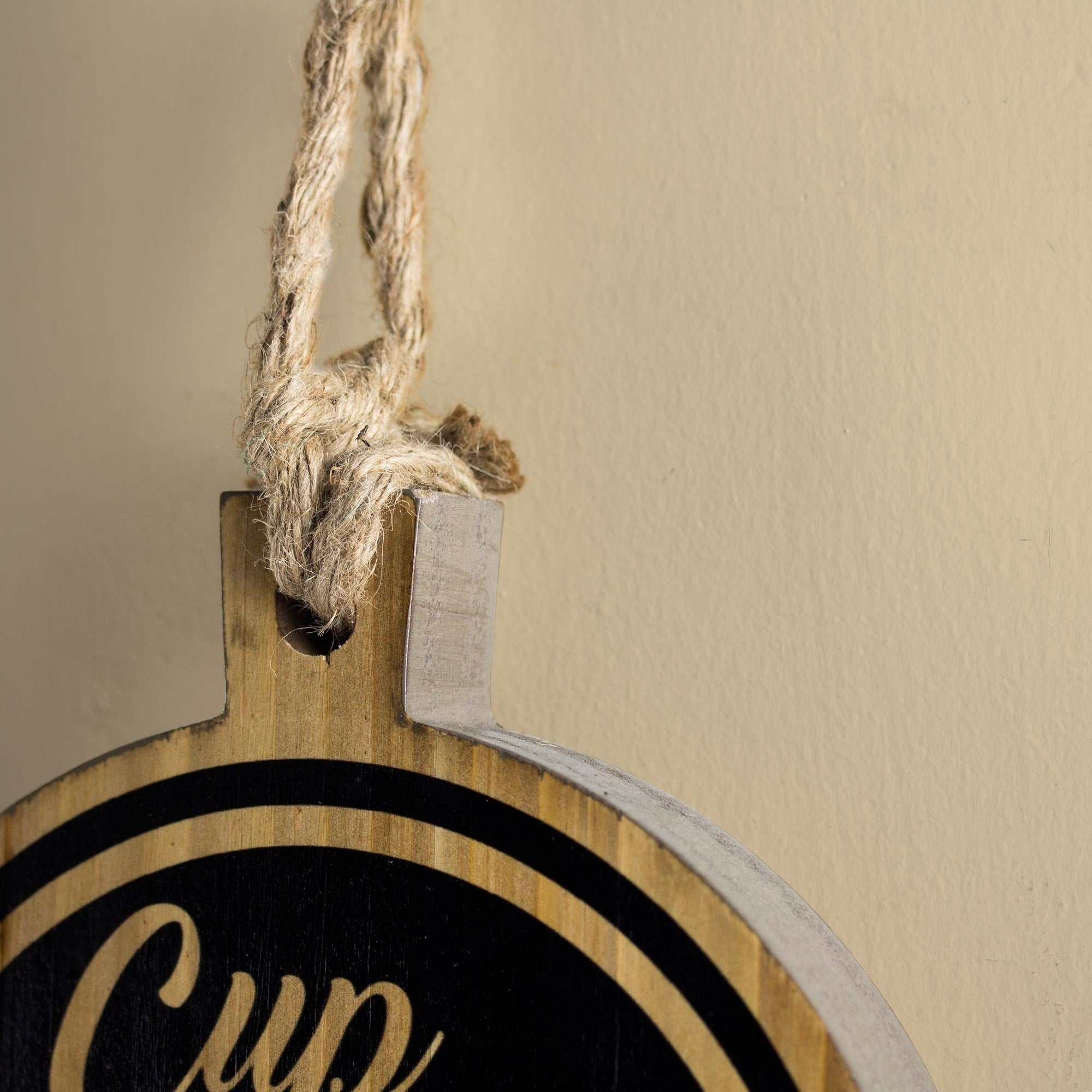 Shop American Art Decor Cup Of Joe Wood Coffee Wall Decor – Free In 2019 Cup Of Joe Wall Decor (Gallery 15 of 20)