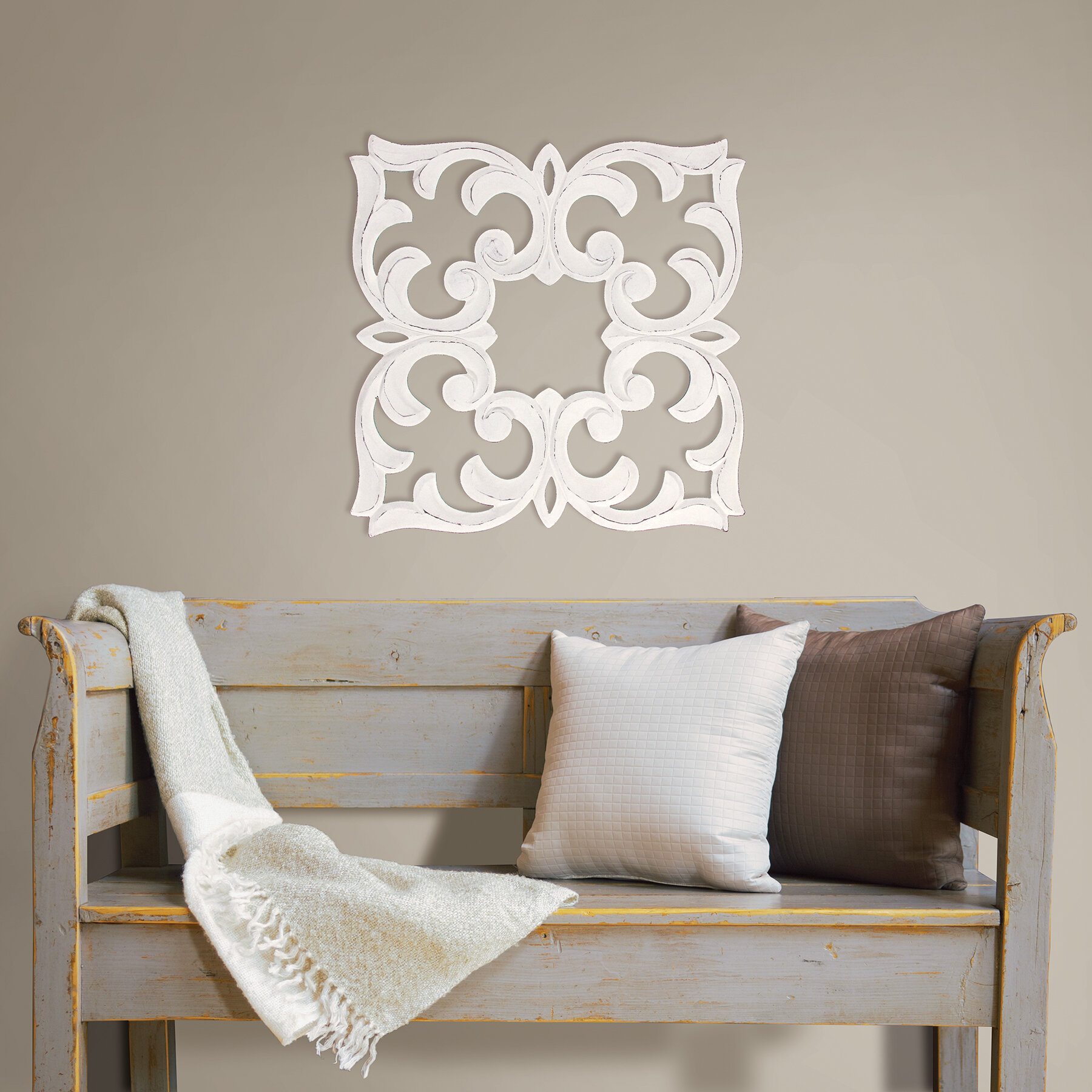 Sign Wall Decor By Charlton Home Inside Most Popular Fetco Home Decor Javen Handcrafted Medallion Wall Décor & Reviews (View 7 of 20)