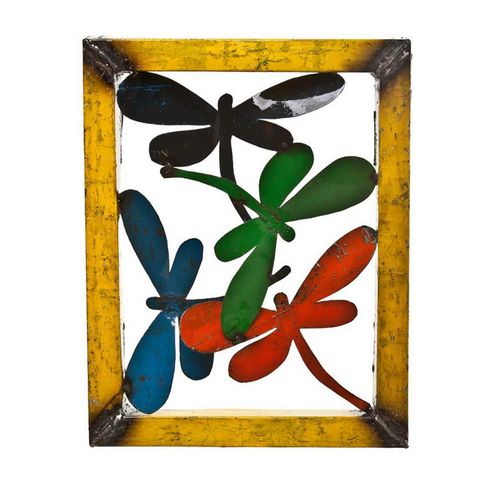 Small Dragonfly Wall Decor 913215 – The Home Depot With Newest Dragonfly Wall Decor (View 20 of 20)